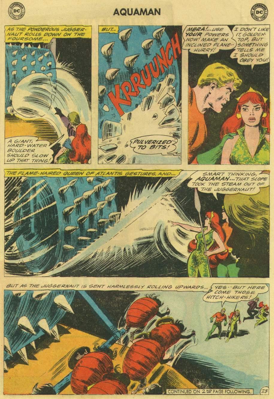 Read online Aquaman (1962) comic -  Issue #22 - 29