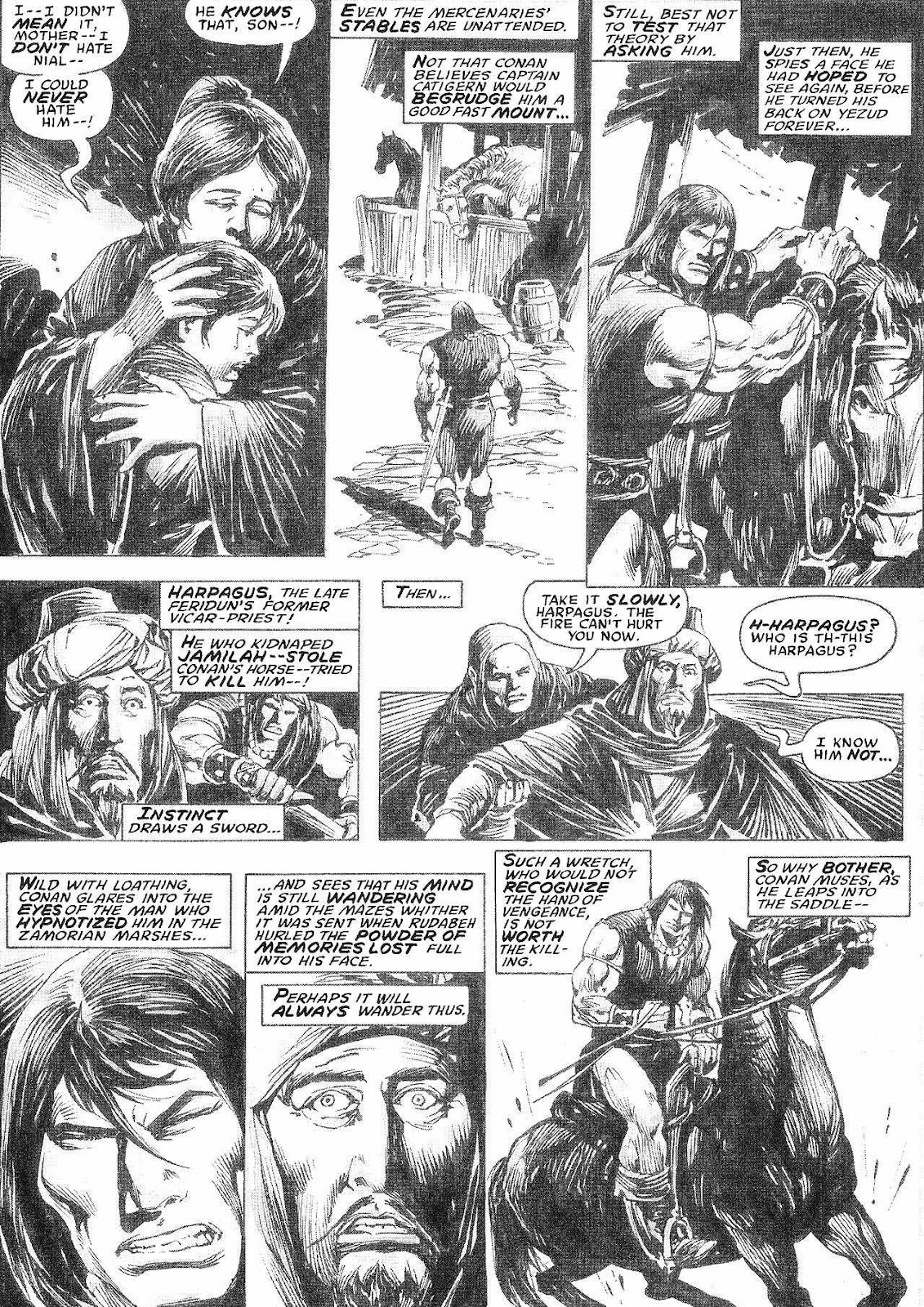 The Savage Sword Of Conan Issue #210 #211 - English 45