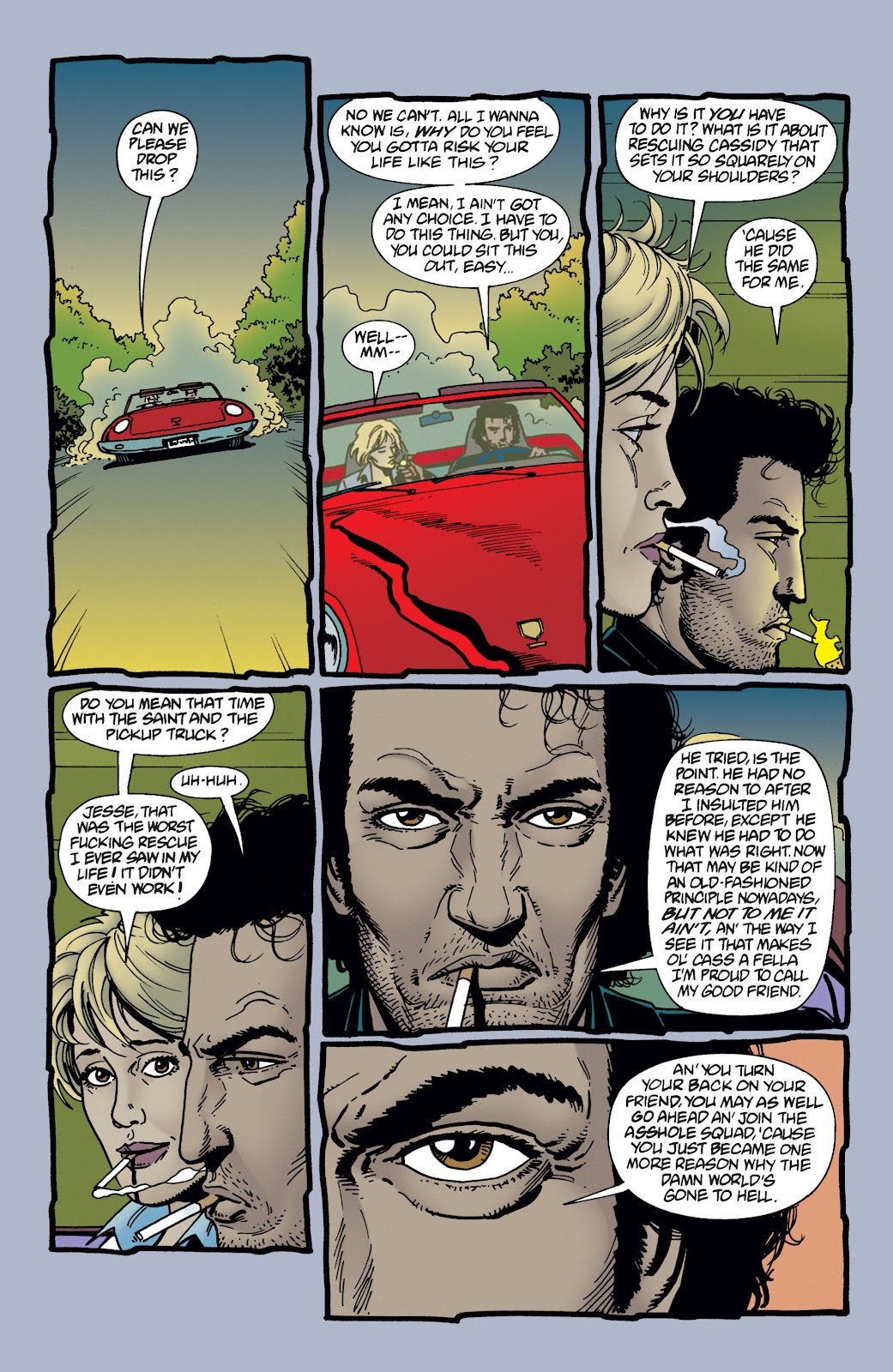 Preacher Issue #21 #30 - English 8