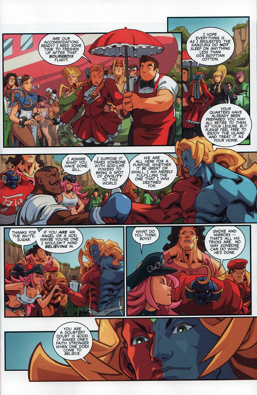 Street Fighter Unlimited Issue #7 #9 - English 5