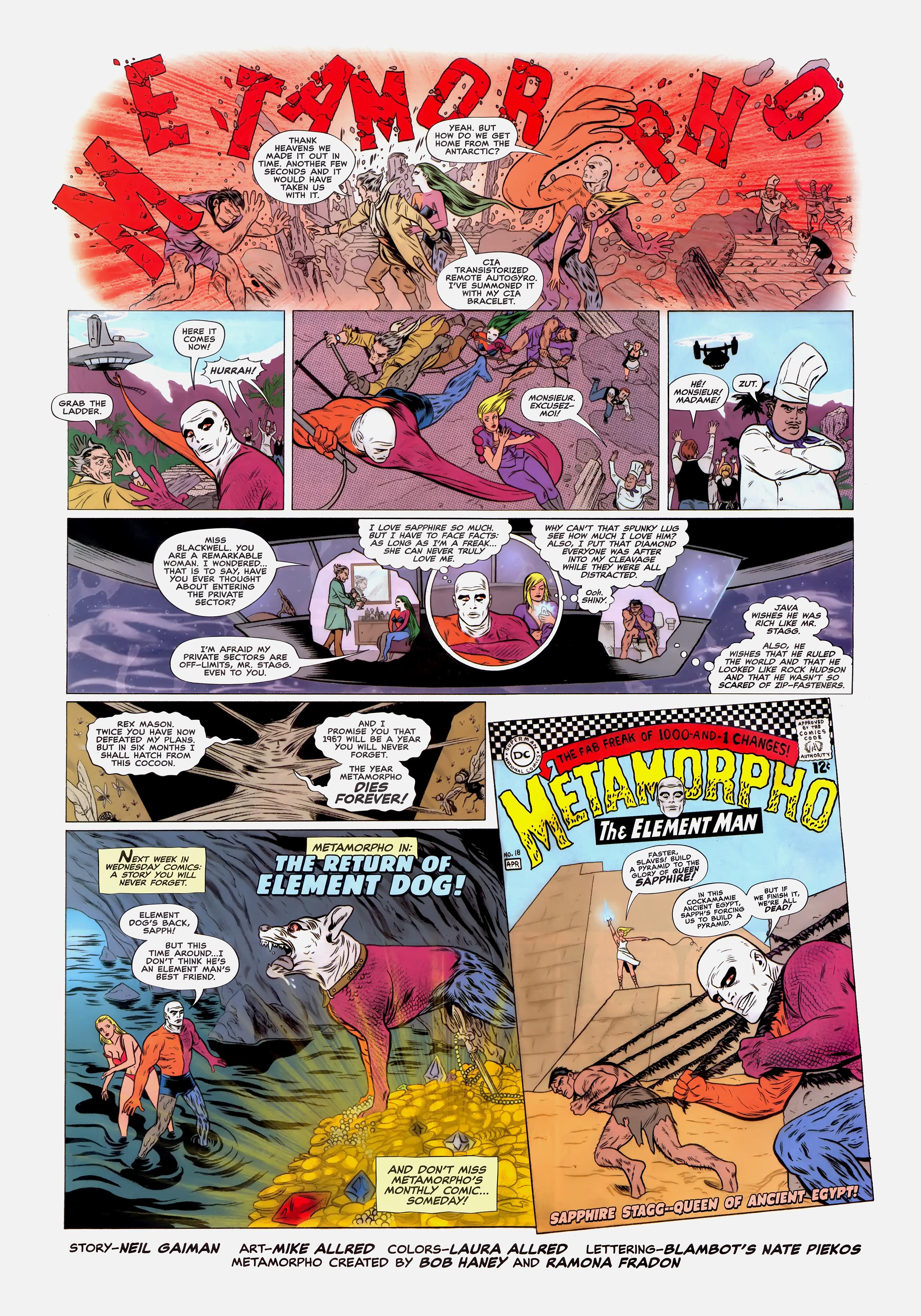 Read online Wednesday Comics comic -  Issue #12 - 7