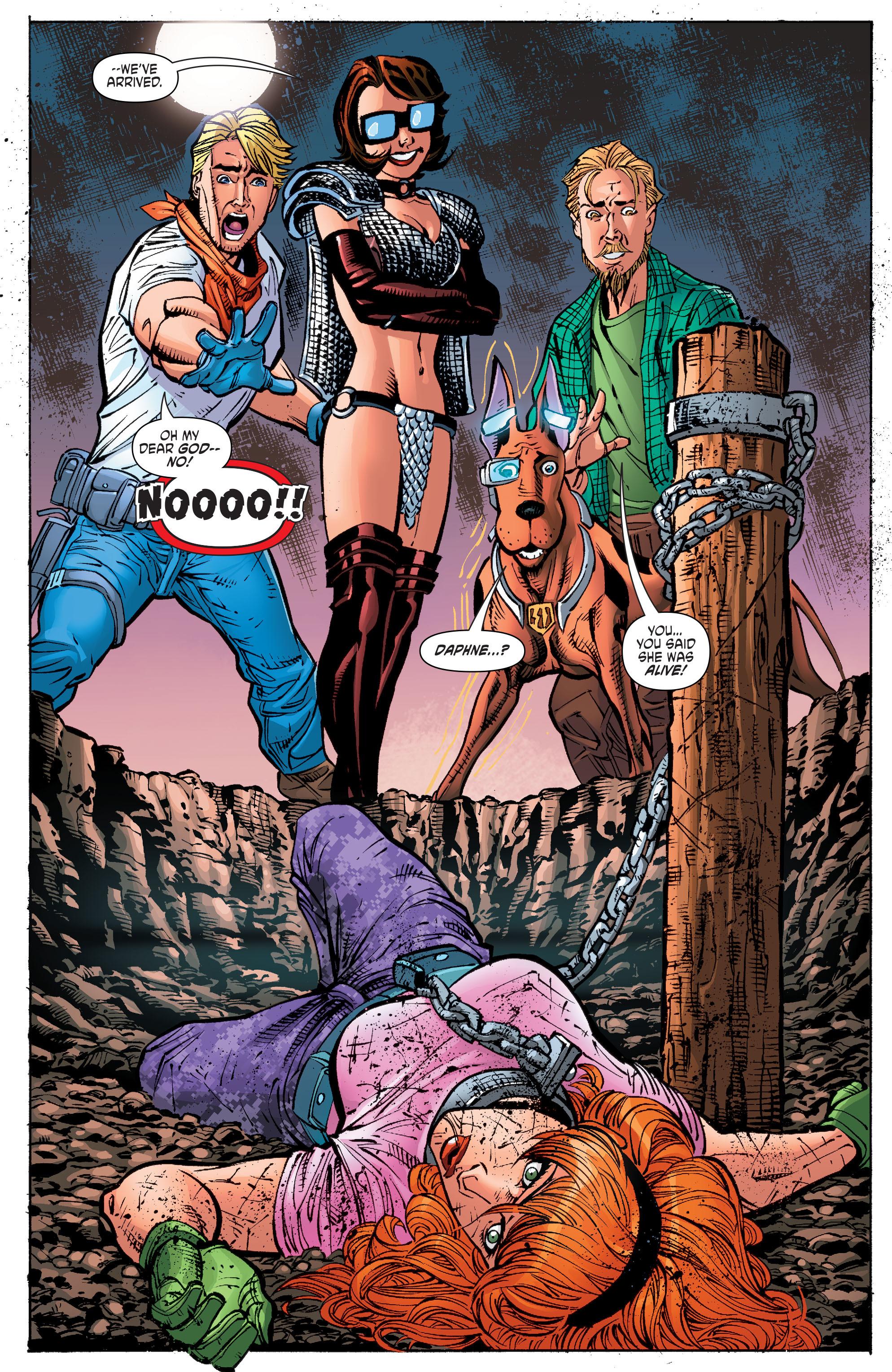 Read online Scooby Apocalypse comic -  Issue #10 - 20