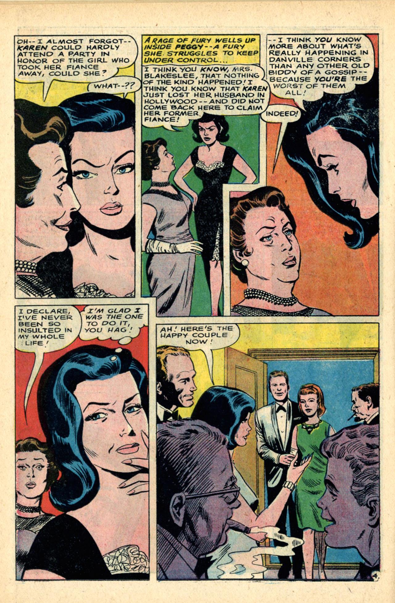 Read online Secret Hearts comic -  Issue #120 - 22