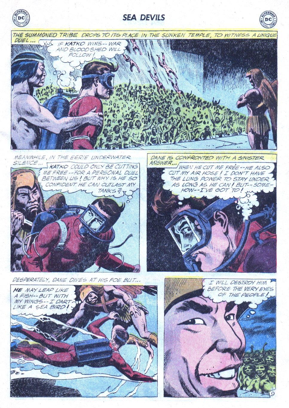 Read online Sea Devils comic -  Issue #4 - 30