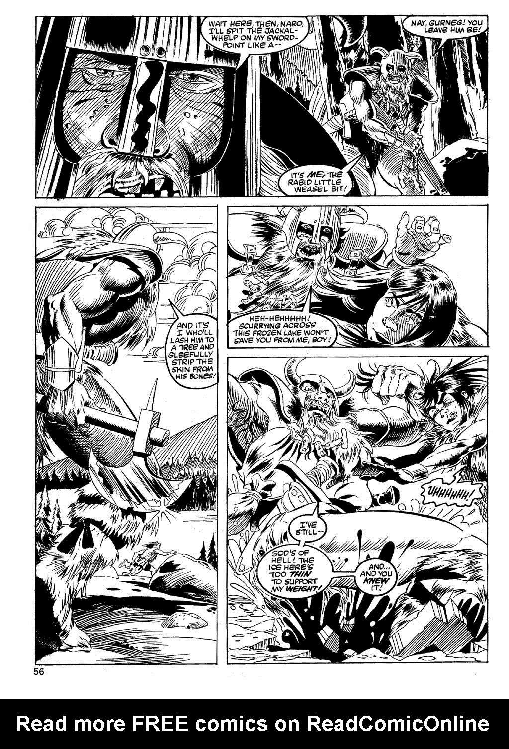 The Savage Sword Of Conan Issue #89 #90 - English 54
