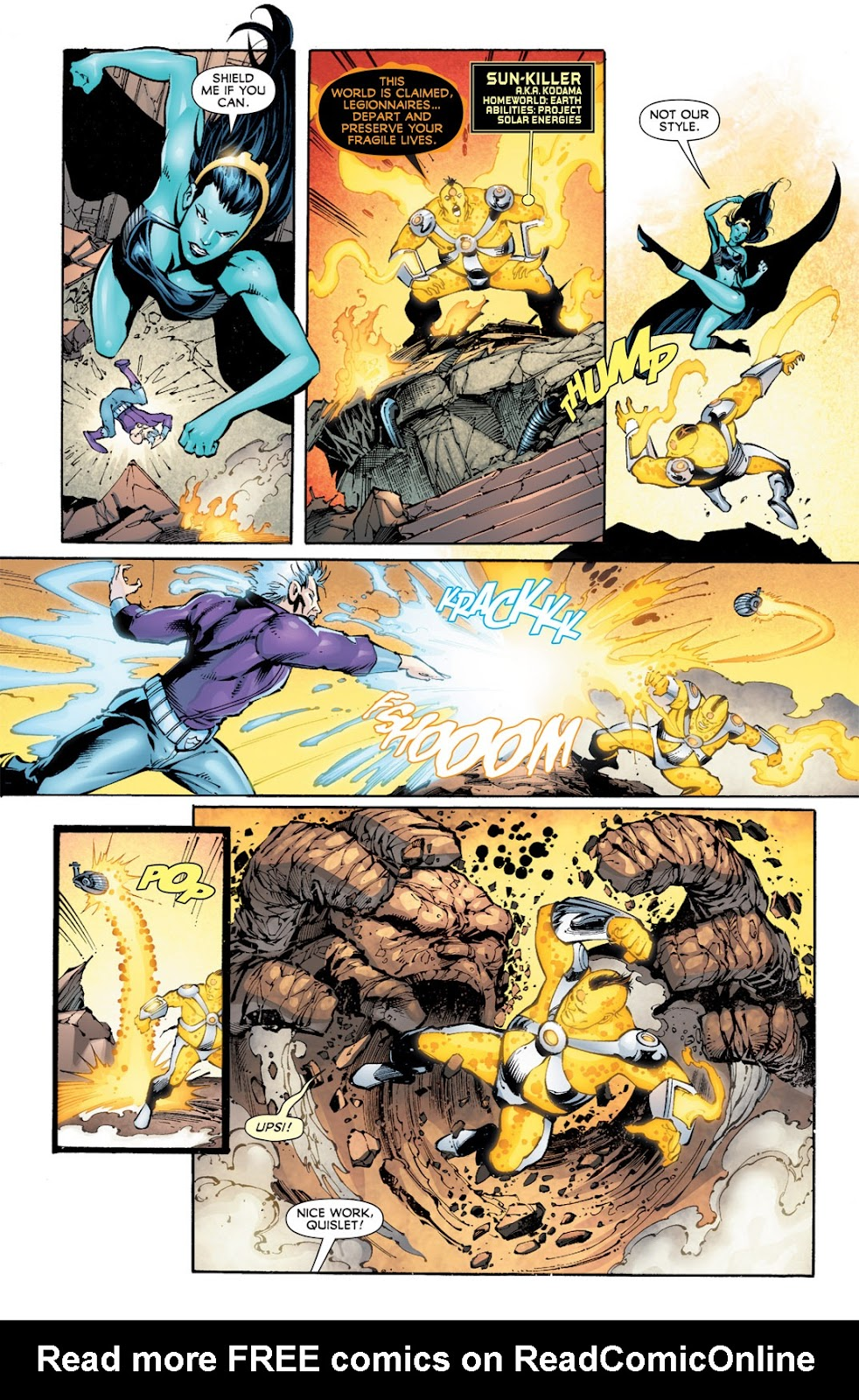 Legion of Super-Heroes (2010) Issue #13 #14 - English 10