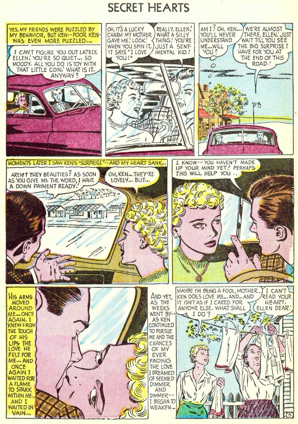 Read online Secret Hearts comic -  Issue #22 - 13