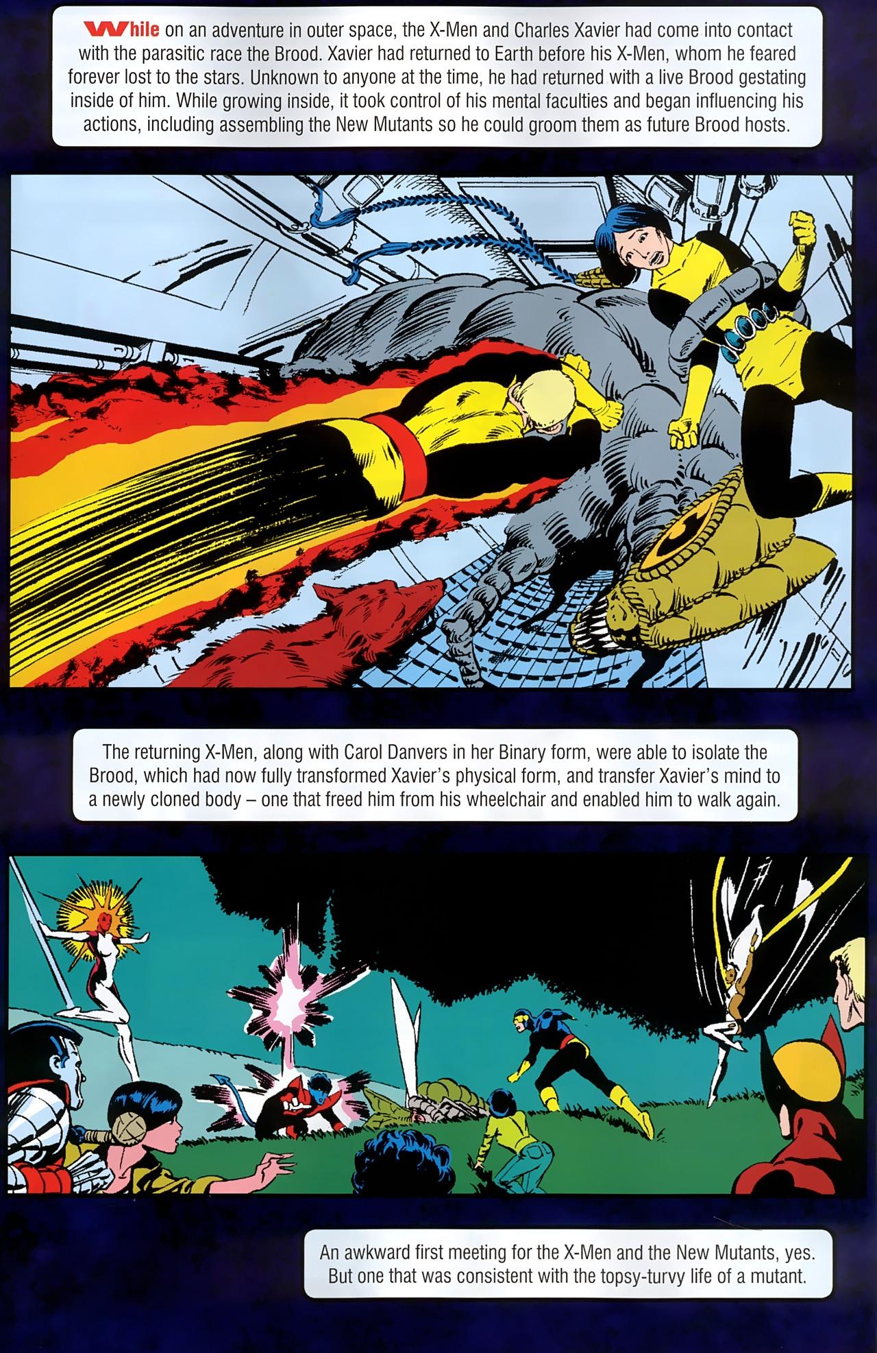 Read online New Mutants Saga comic -  Issue # Full - 6