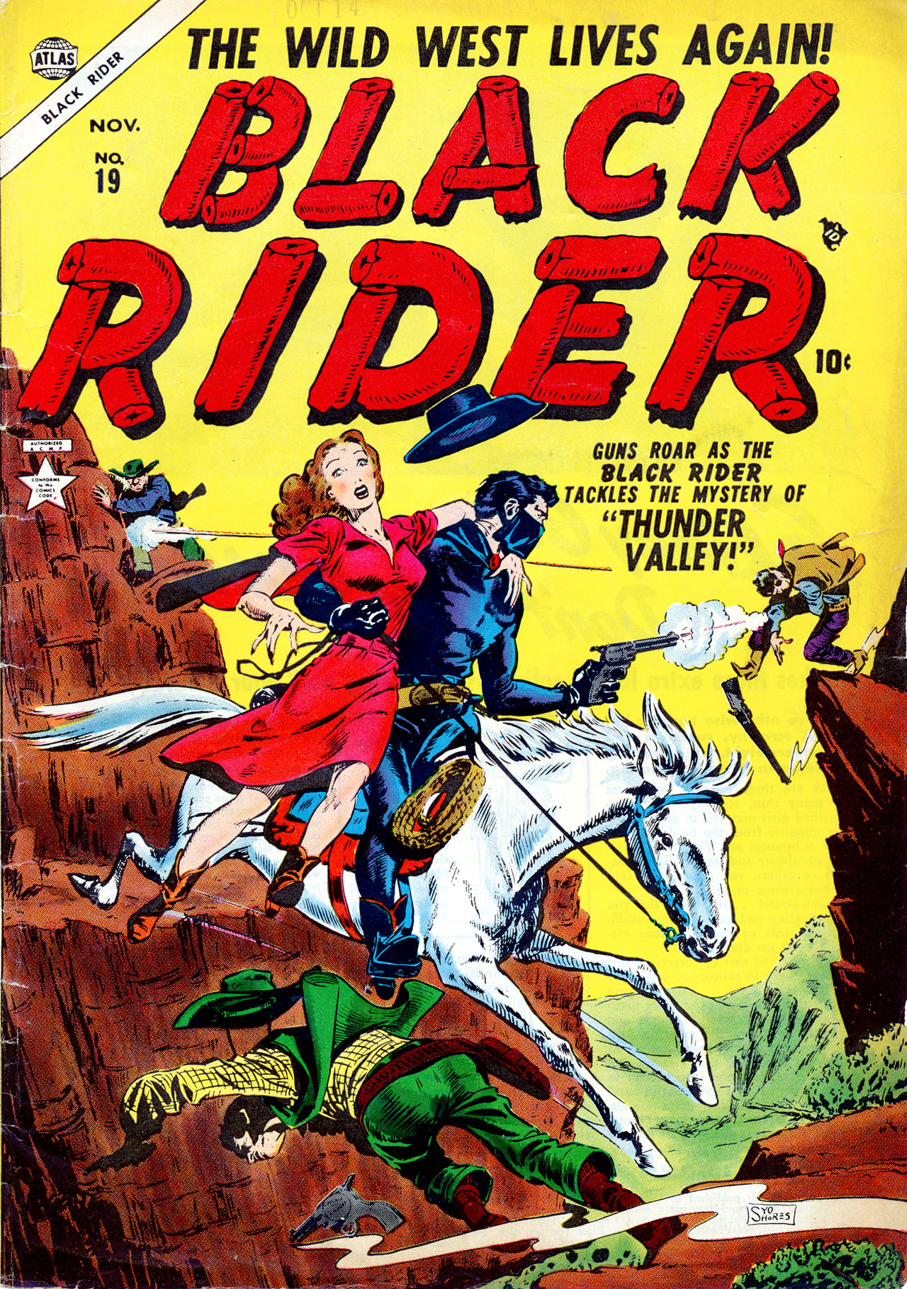 Black Rider 19 Page 1