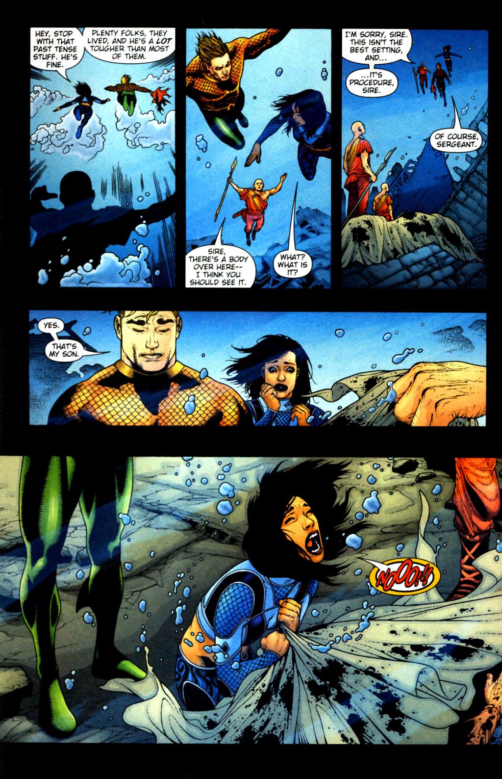 Read online Aquaman (2003) comic -  Issue #38 - 9