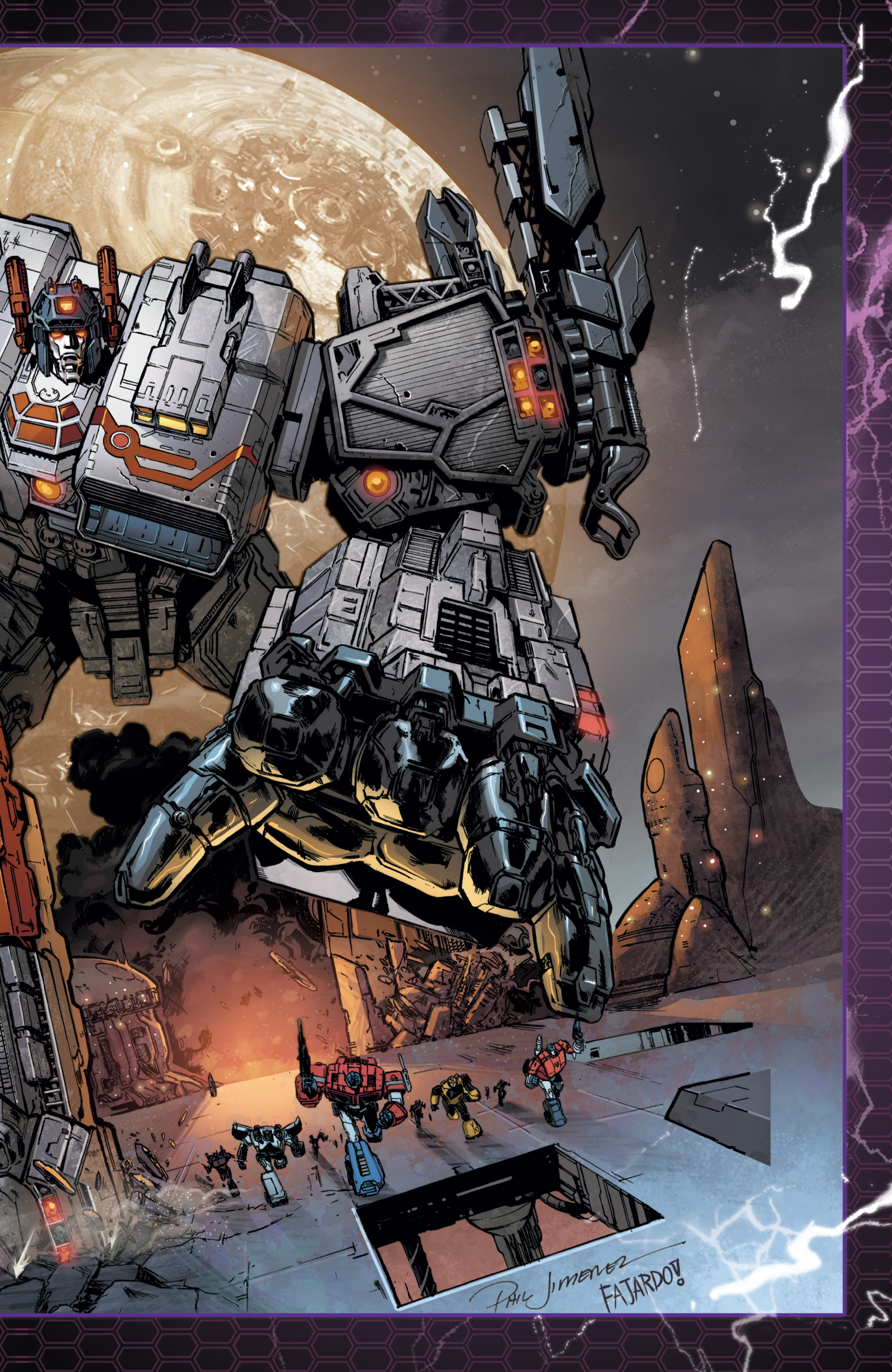 Read online The Transformers: Dark Cybertron Finale comic -  Issue # Full - 150