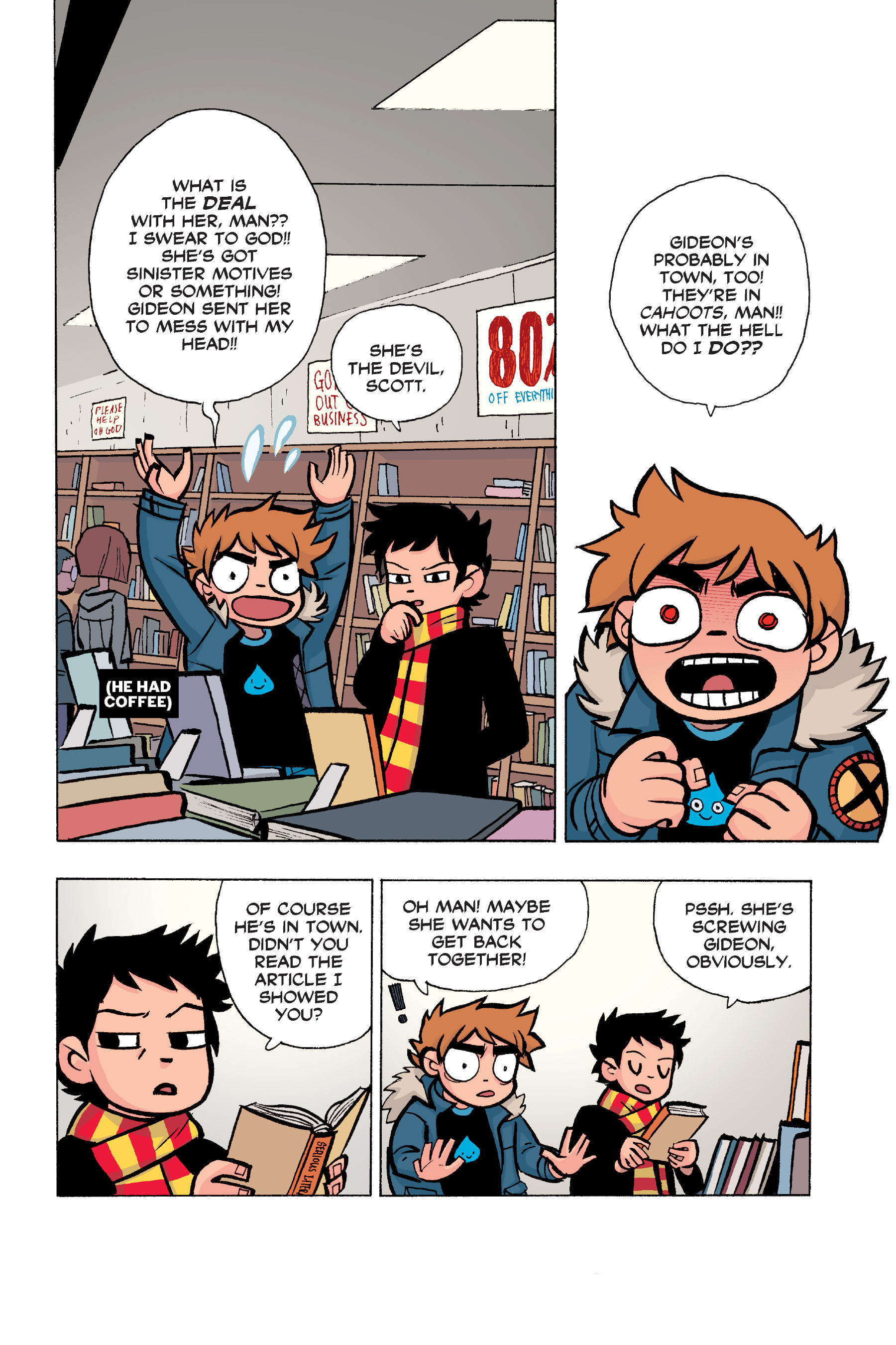 Read online Scott Pilgrim comic -  Issue #6 - 49
