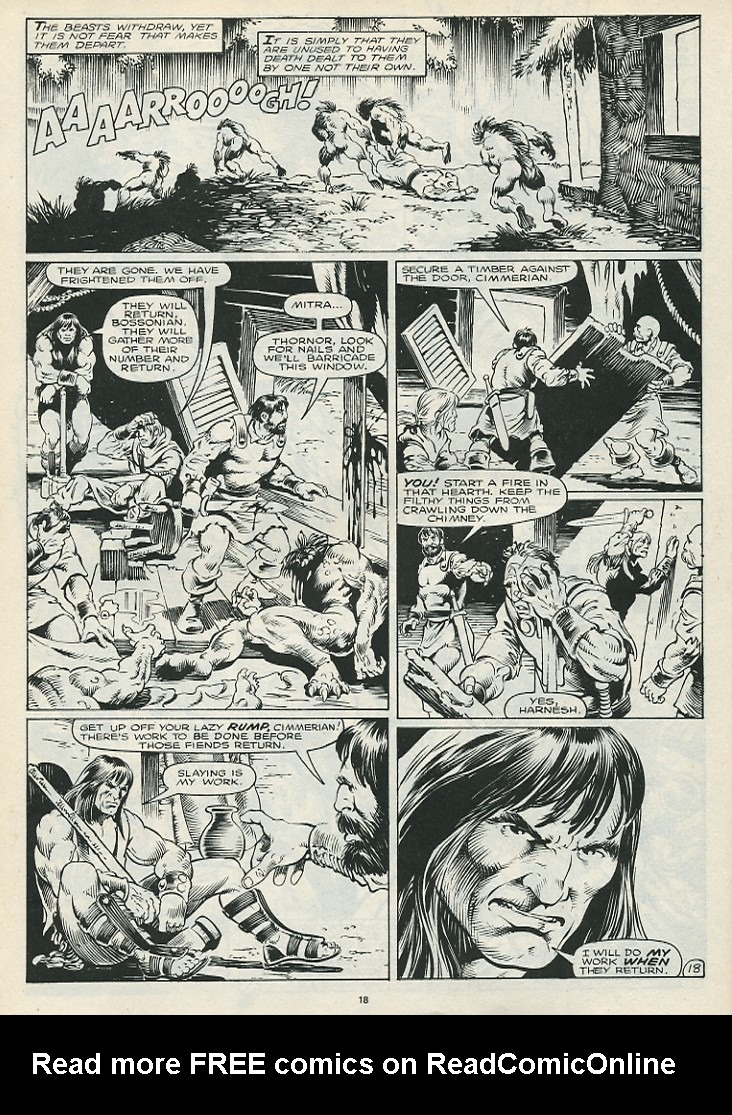 The Savage Sword Of Conan Issue #172 #173 - English 20