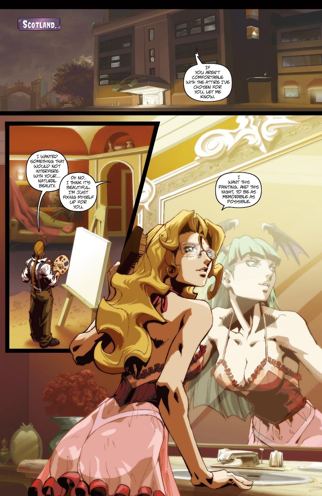Darkstalkers Issue #3 #4 - English 21