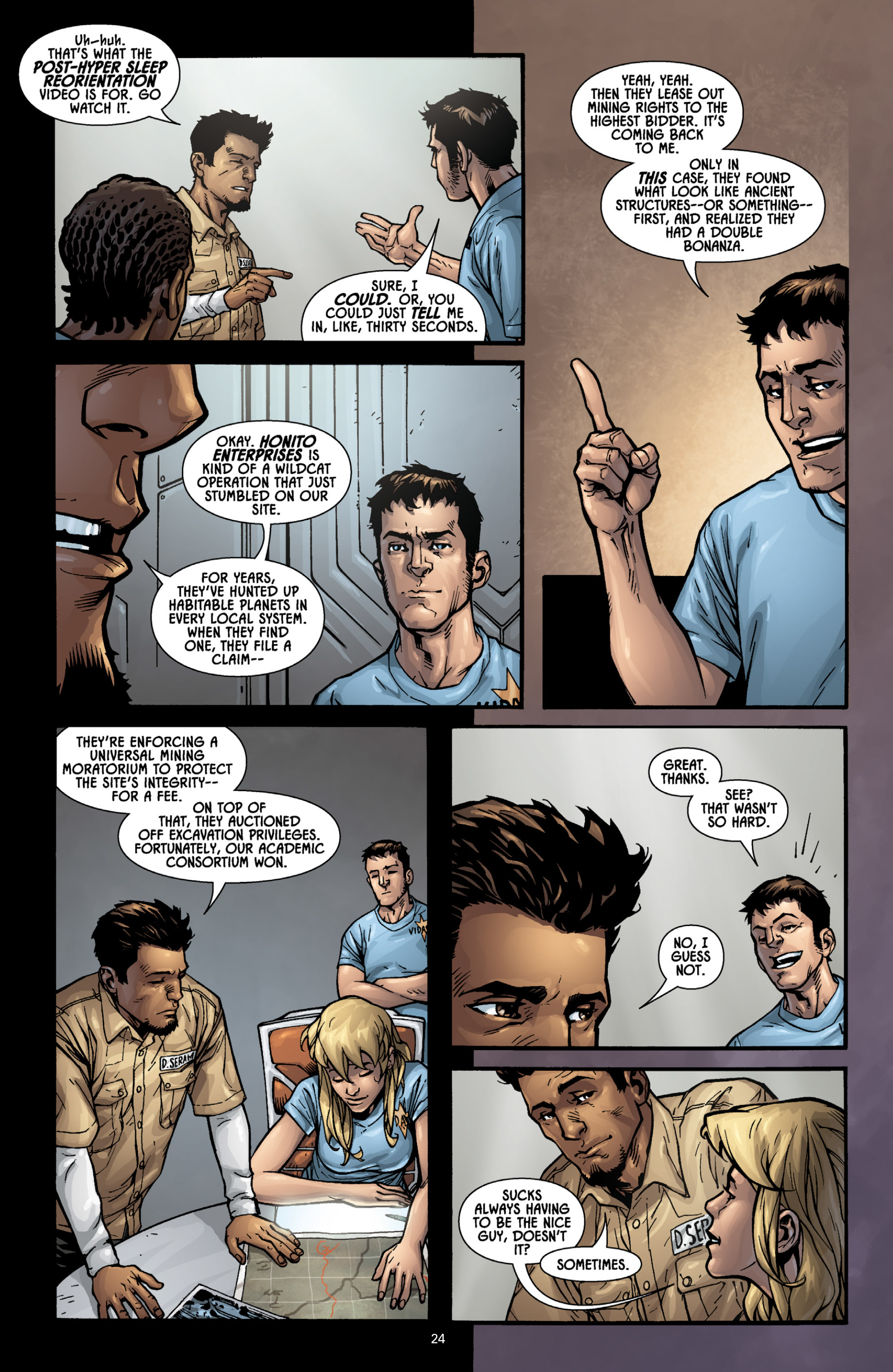 Aliens (2009) TPB Page 22