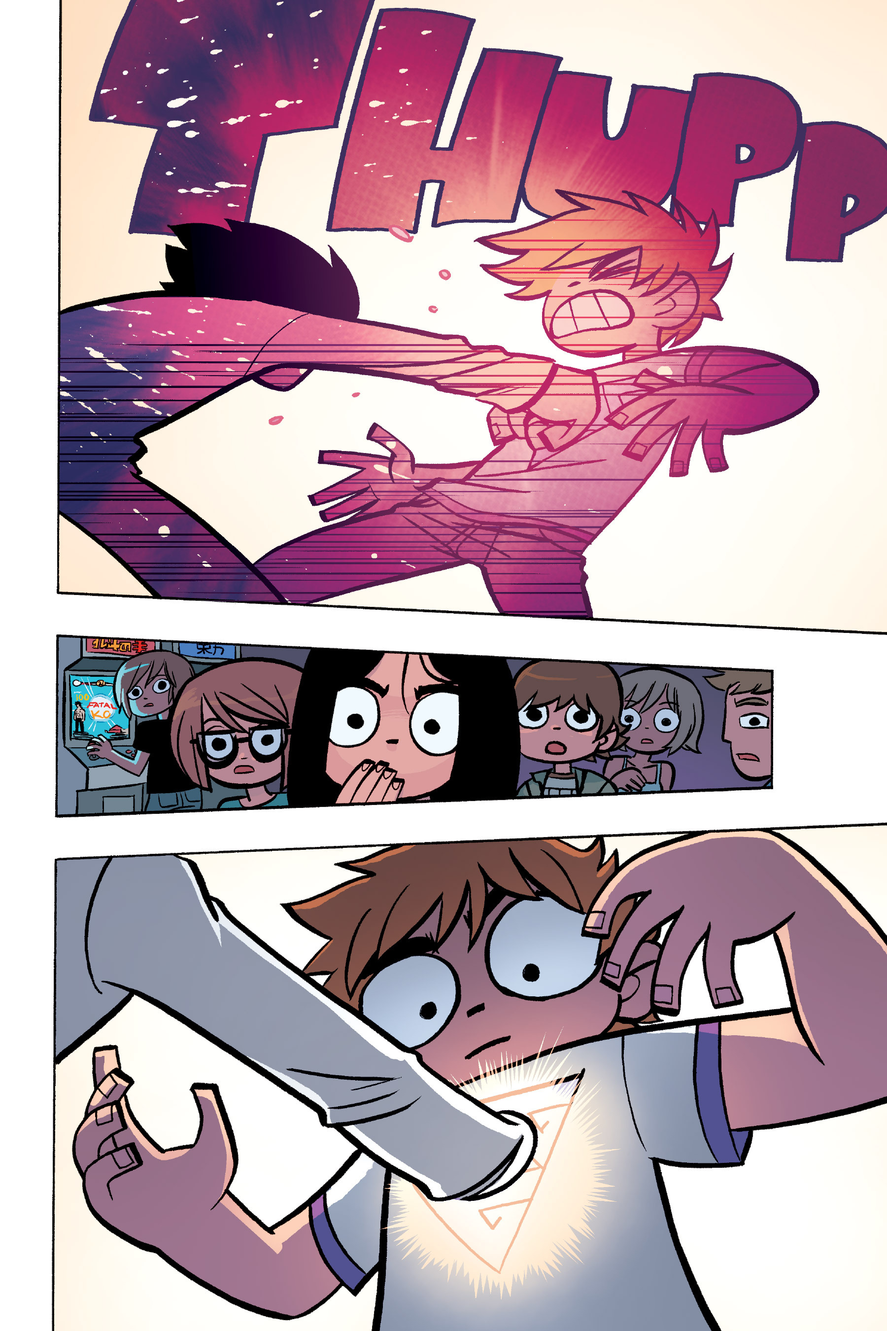 Read online Scott Pilgrim comic -  Issue #6 - 121