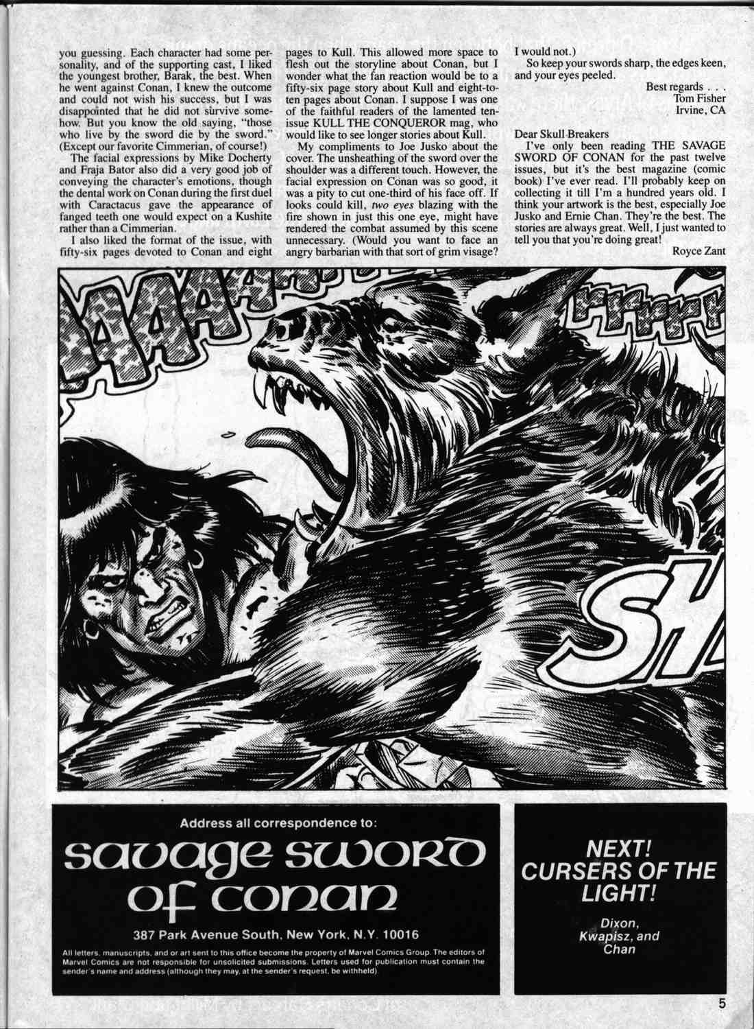 The Savage Sword Of Conan Issue #133 #134 - English 4