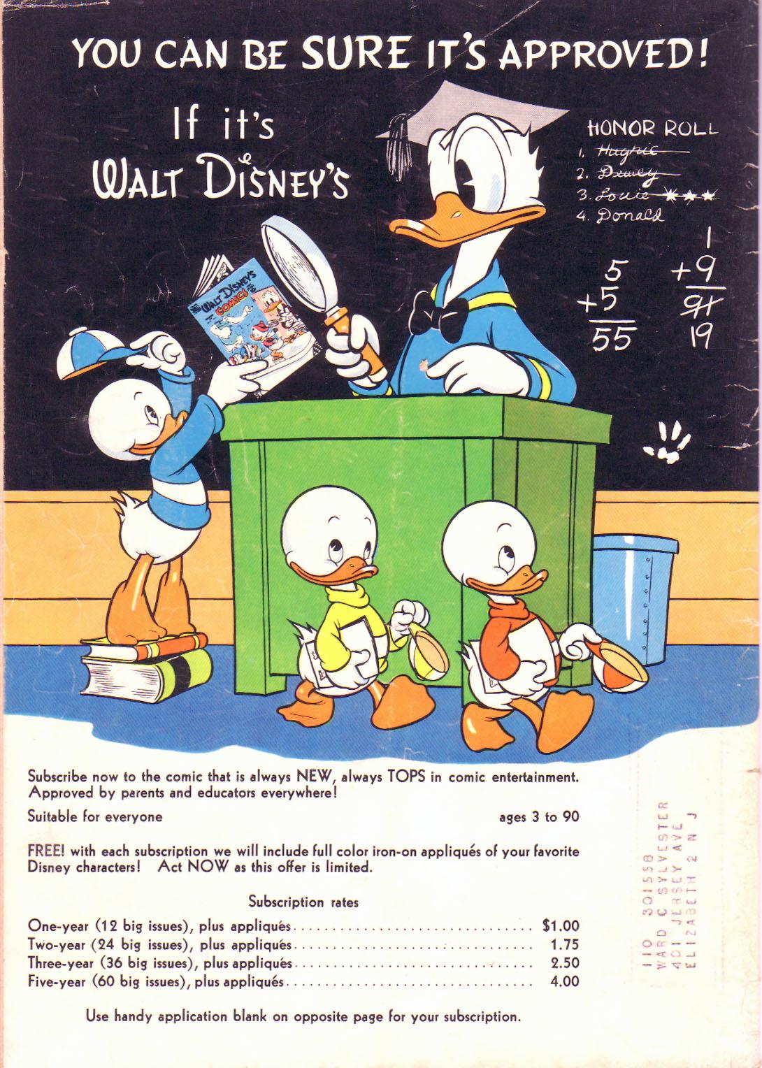 Walt Disneys Comics and Stories 114 Page 52
