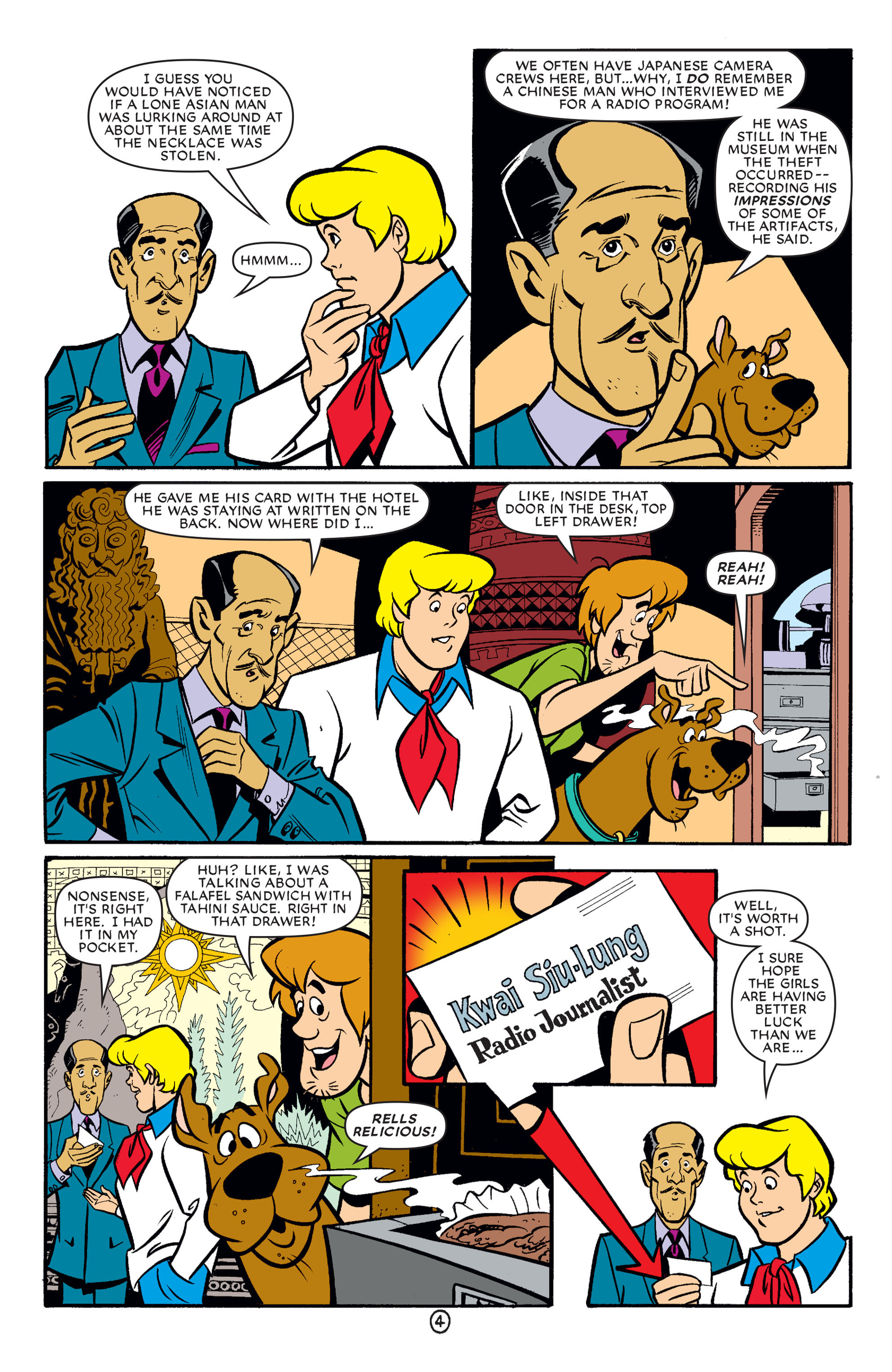 Read online Scooby-Doo (1997) comic -  Issue #62 - 15