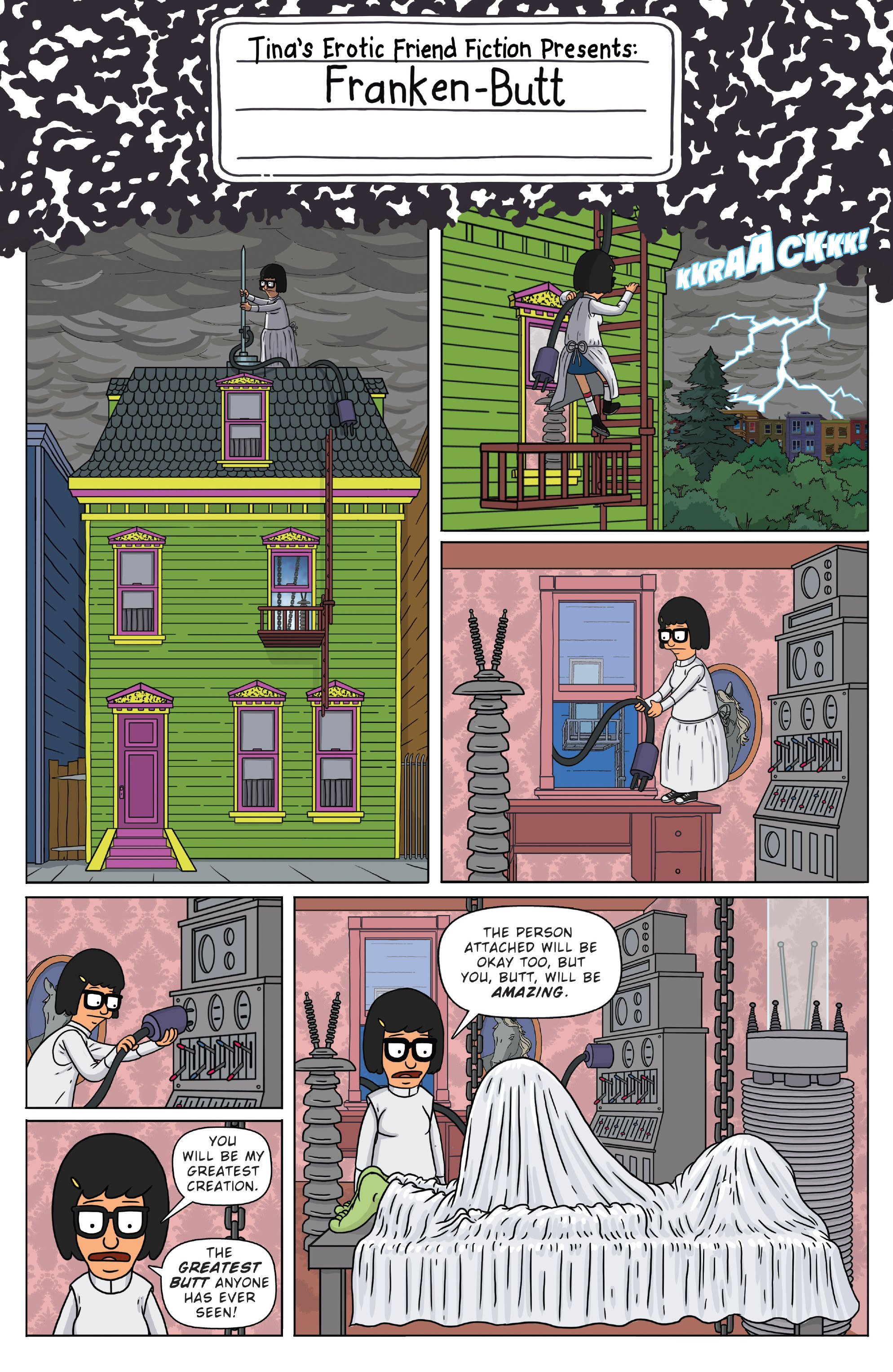 Read online Bob's Burgers (2014) comic -  Issue #4 - 3