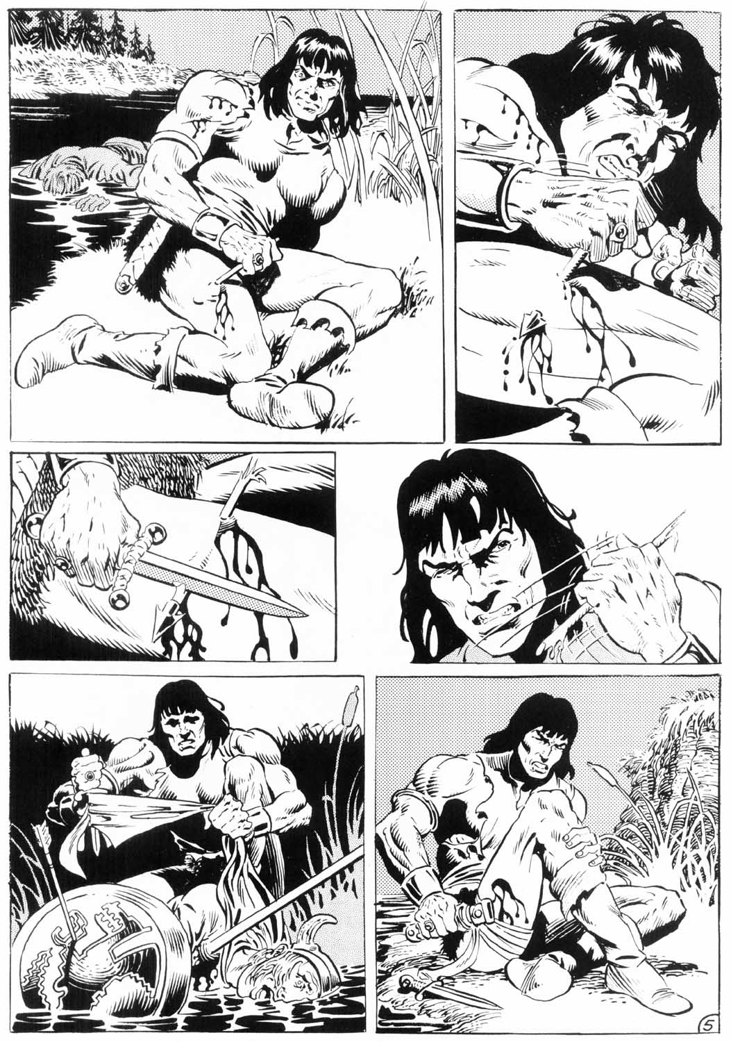 The Savage Sword Of Conan Issue #154 #155 - English 55