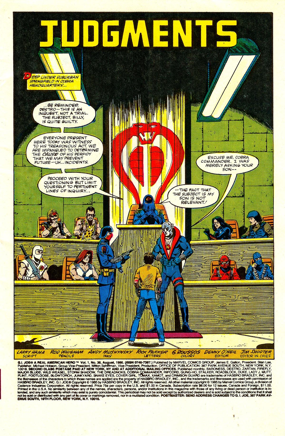 G.I. Joe: A Real American Hero 38 Page 2