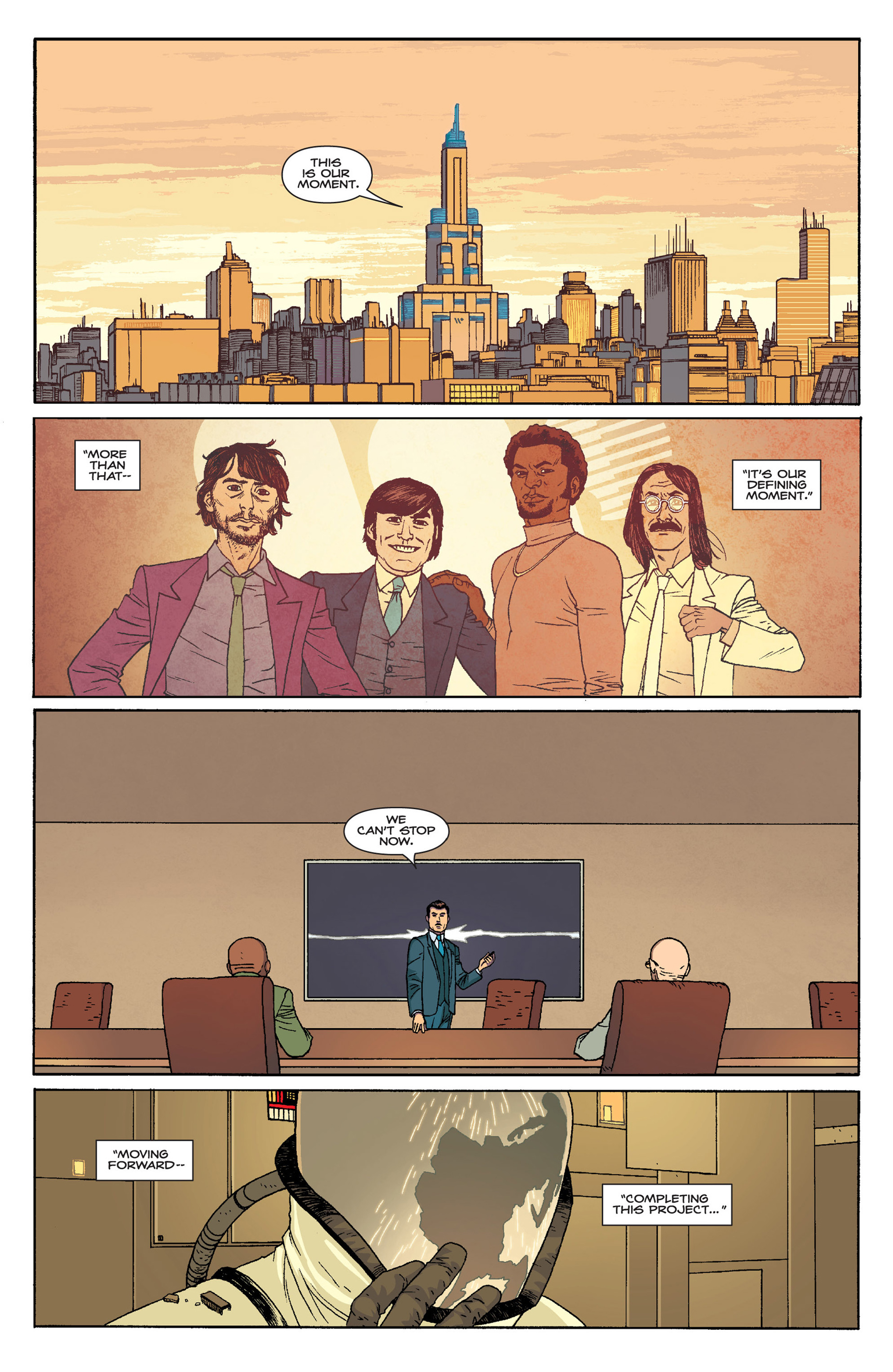 Read online Harvest comic -  Issue #4 - 25