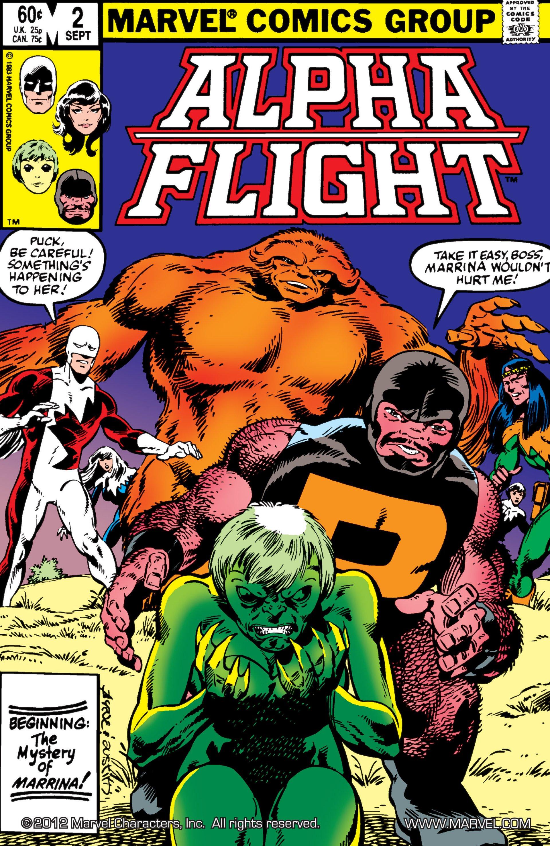 Alpha Flight (1983) 2 Page 1