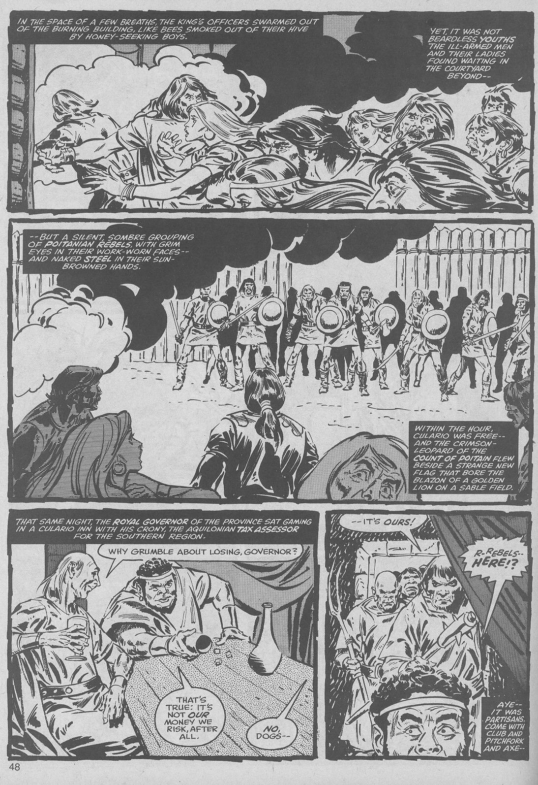 The Savage Sword Of Conan Issue #50 #51 - English 48