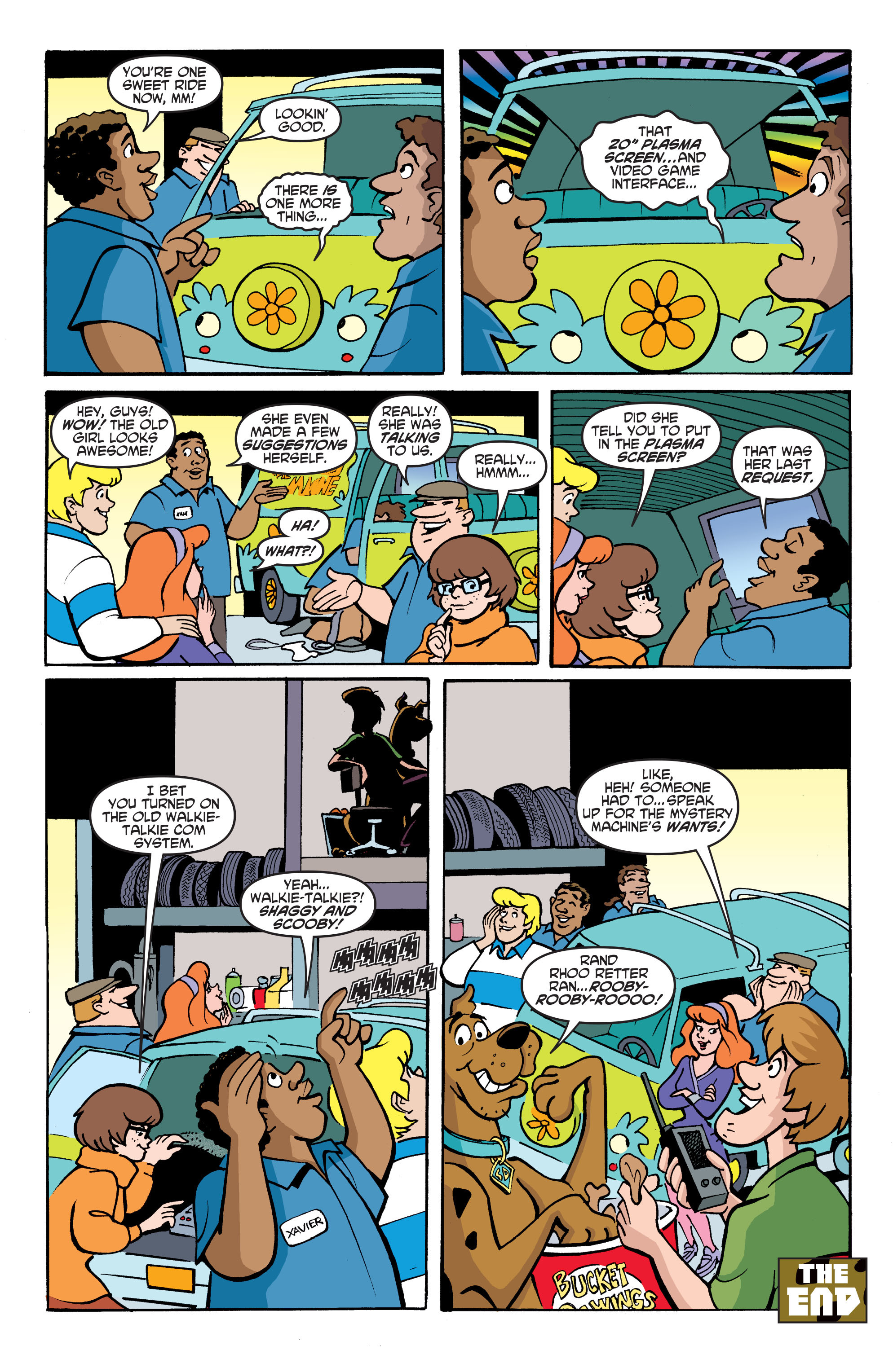 Read online Scooby-Doo: Where Are You? comic -  Issue #68 - 15