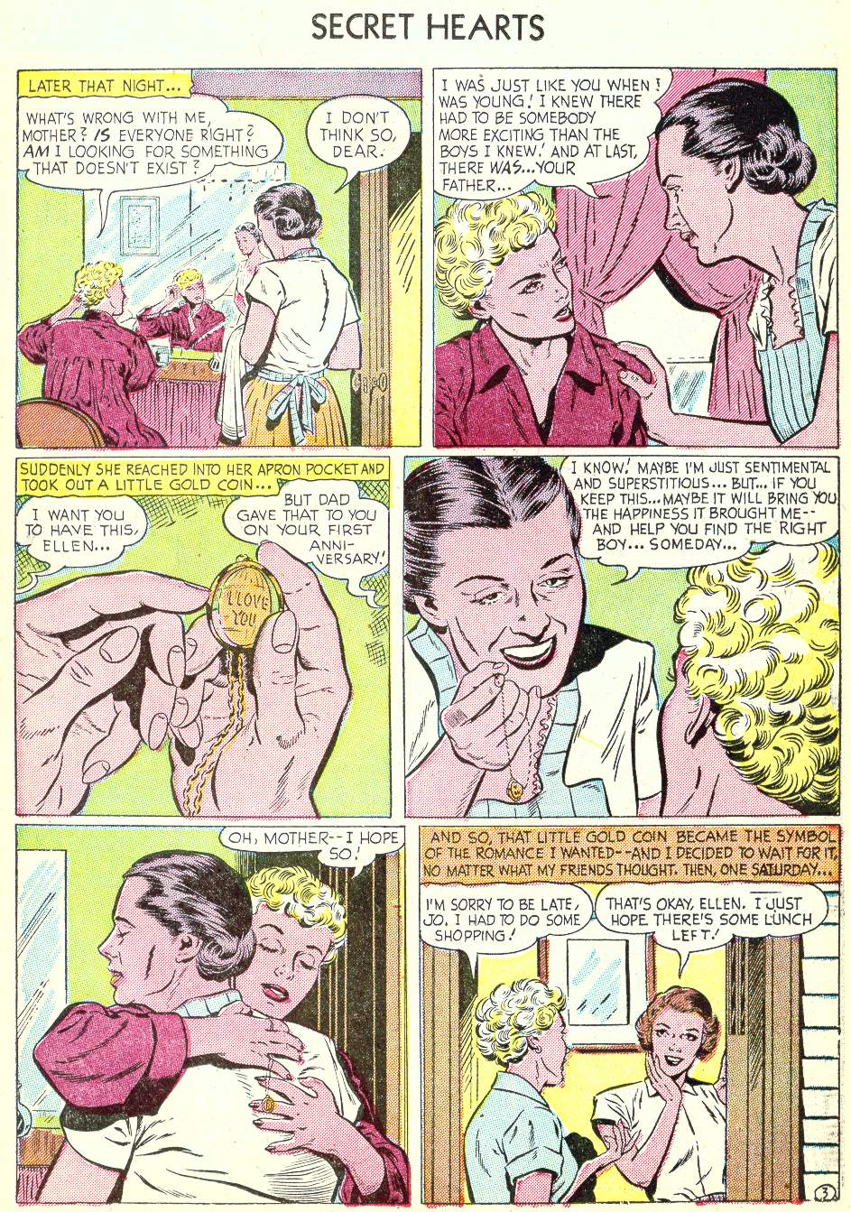 Read online Secret Hearts comic -  Issue #22 - 11