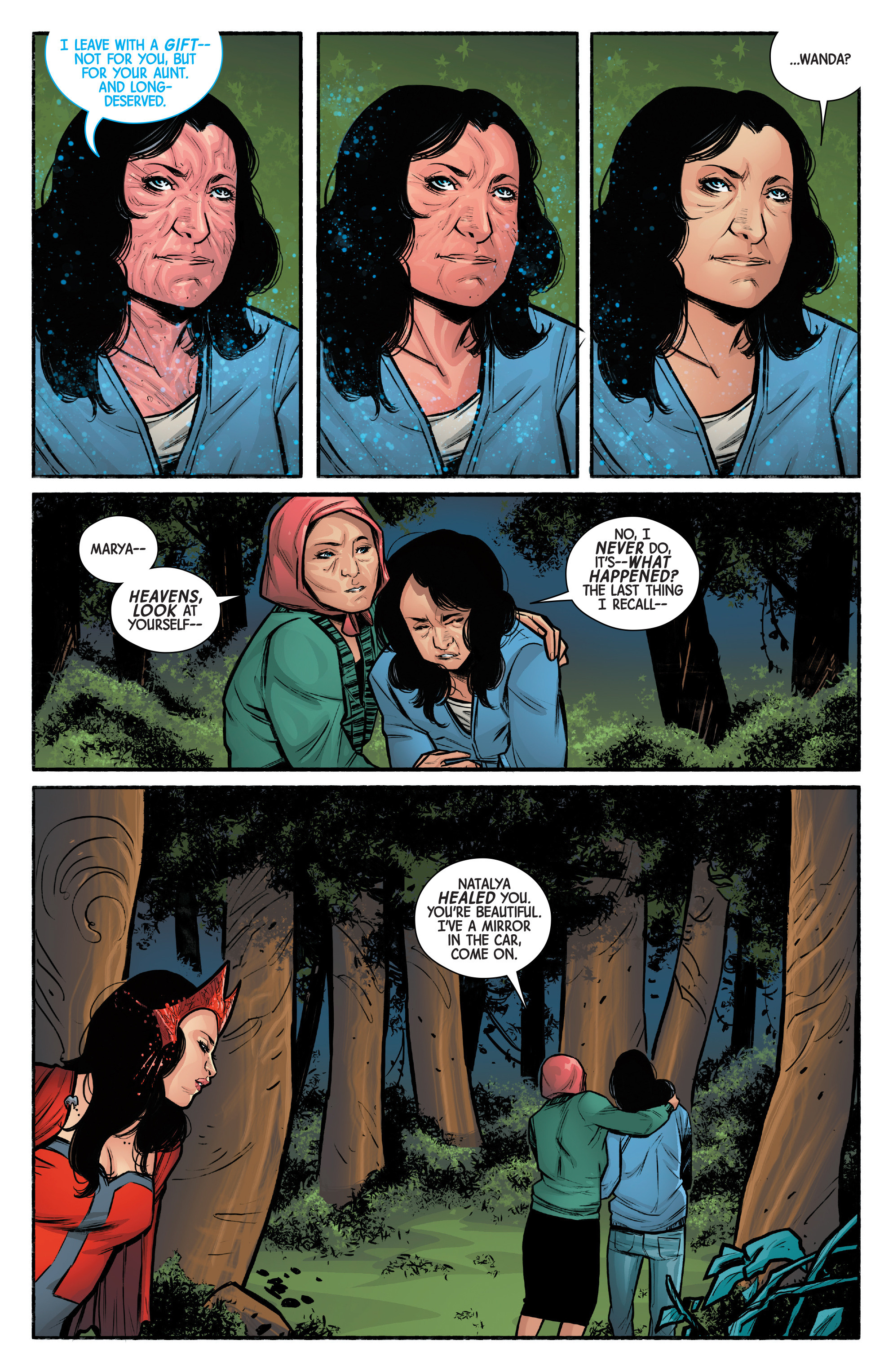 Read online Scarlet Witch (2016) comic -  Issue #12 - 19
