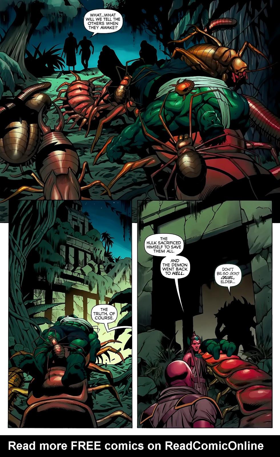 Incredible Hulks (2010) Issue #623 #13 - English 21