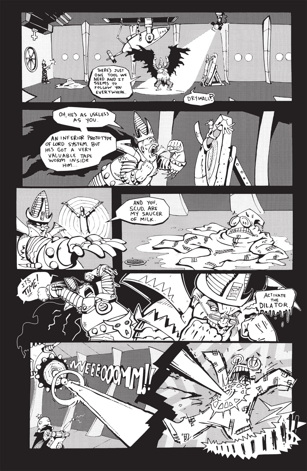 Read online Scud: The Disposable Assassin: The Whole Shebang comic -  Issue # TPB (Part 2) - 219