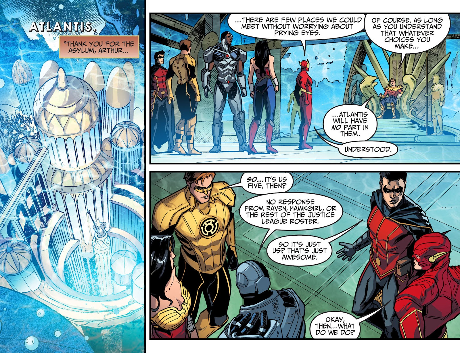 Injustice: Gods Among Us Year Four Issue #22 #23 - English 20