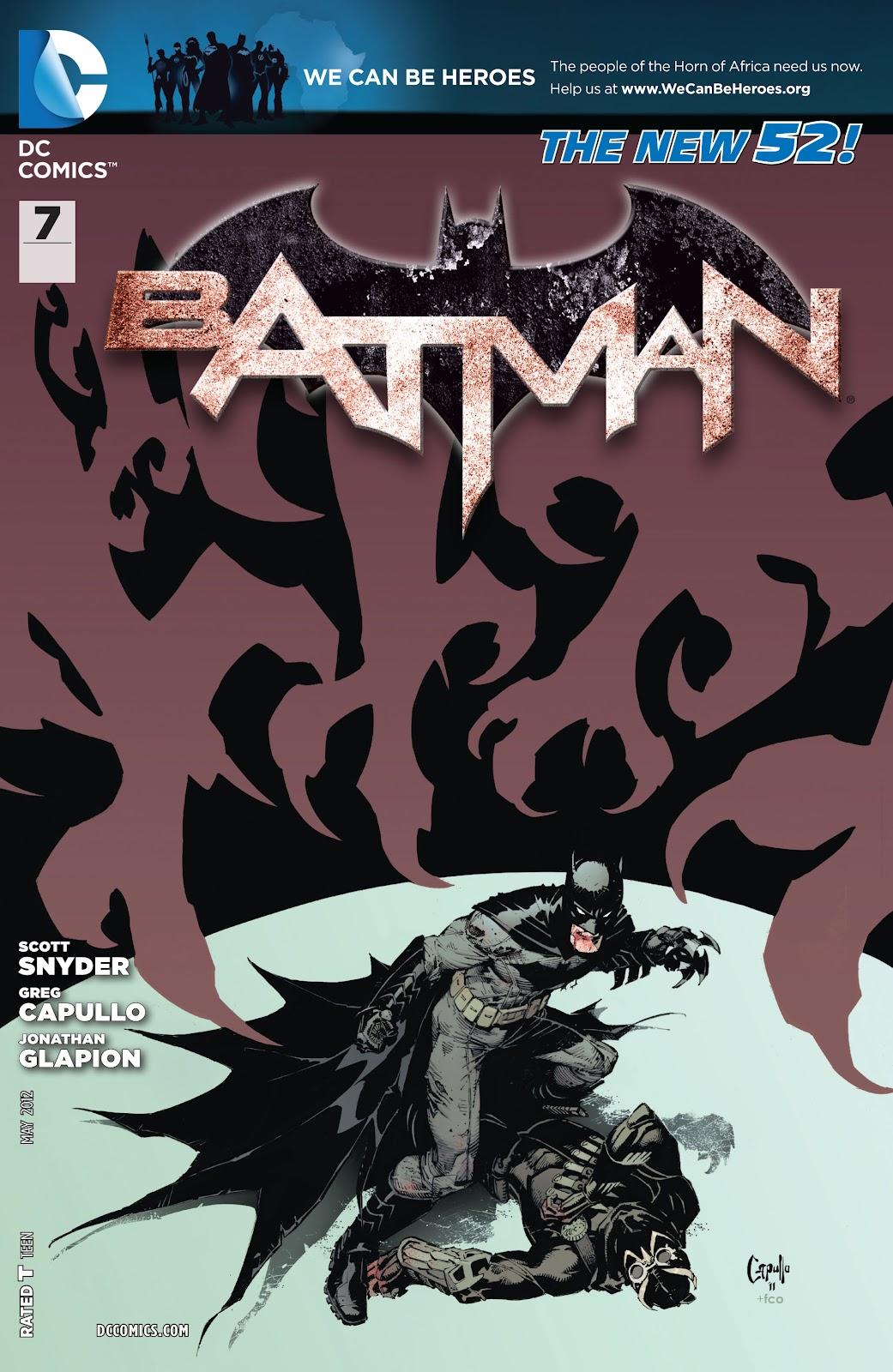 Batman (2011) Issue #7 #22 - English 1