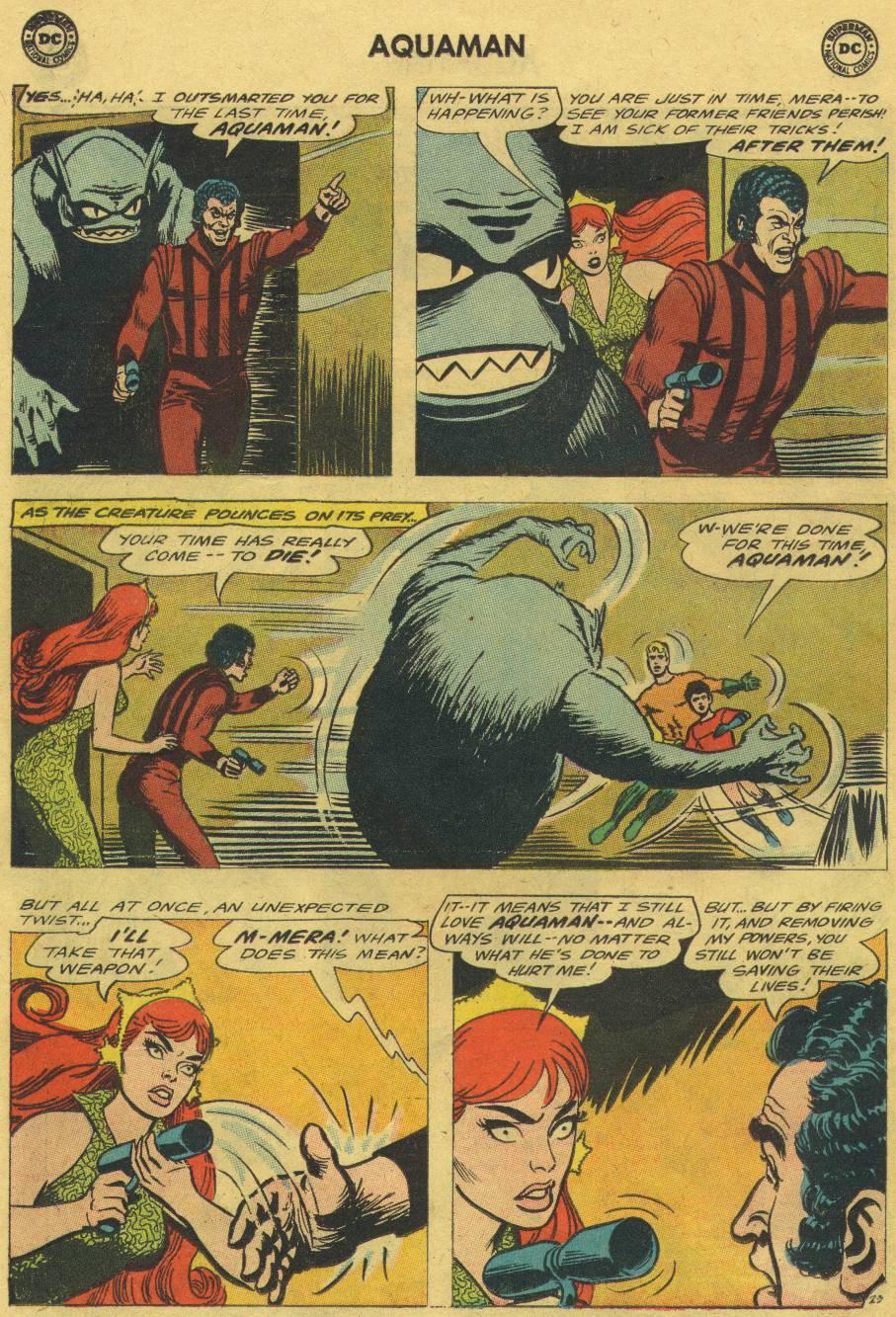 Aquaman (1962) Issue #18 #18 - English 30