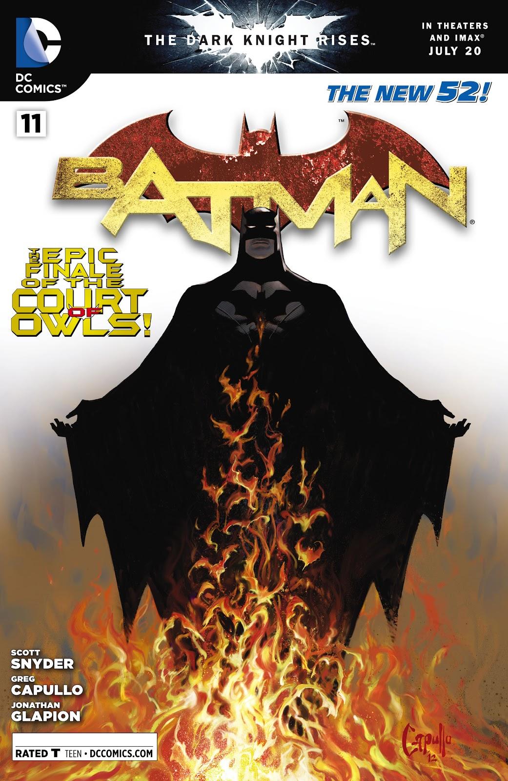 Batman (2011) Issue #11 #26 - English 33