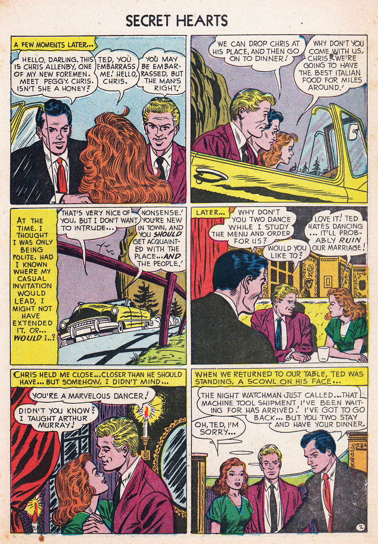 Read online Secret Hearts comic -  Issue #13 - 19