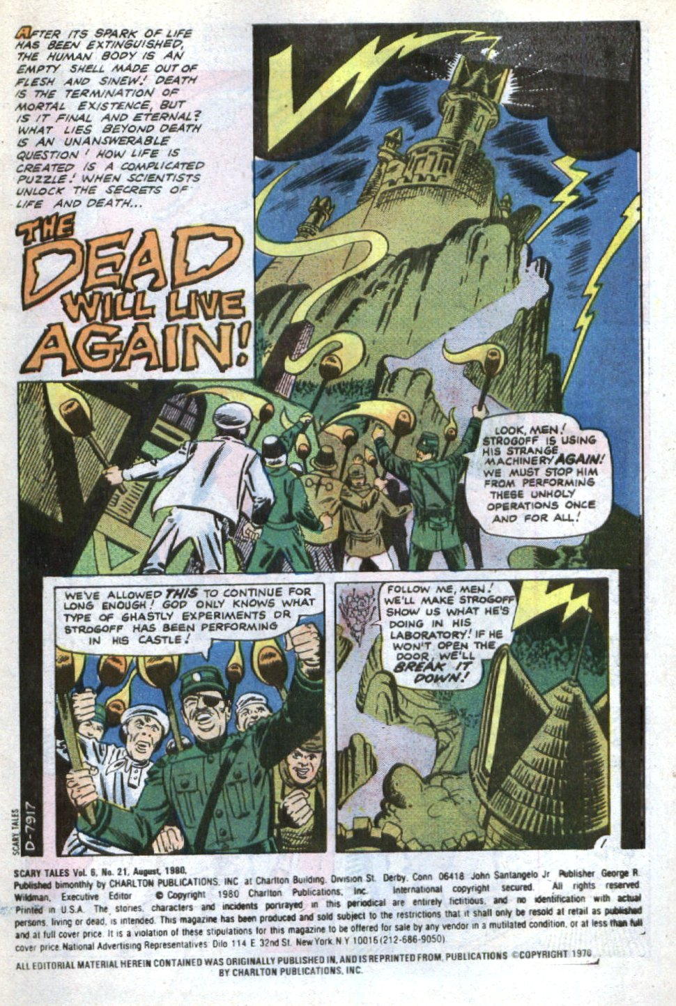 Read online Scary Tales comic -  Issue #21 - 3