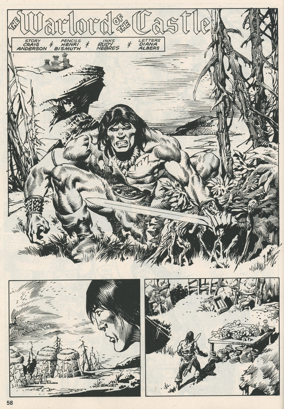 The Savage Sword Of Conan Issue #115 #116 - English 58