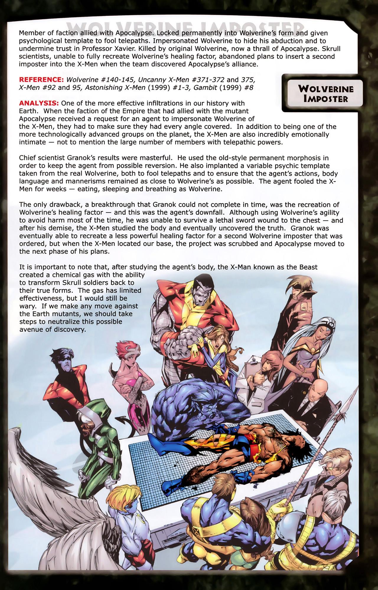 Read online Skrulls! comic -  Issue # Full - 55