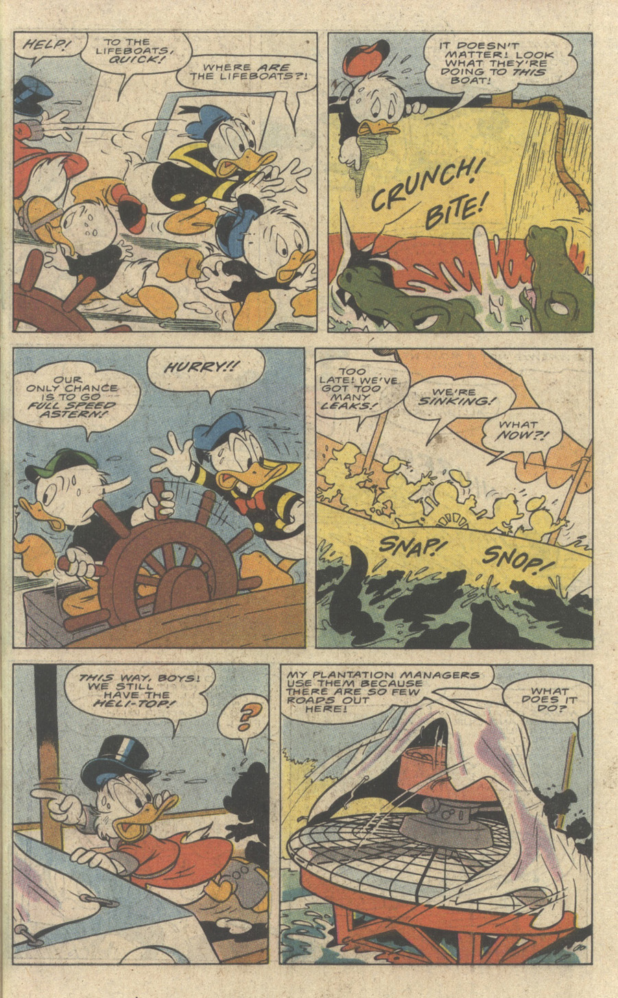 Uncle Scrooge (1953) Issue #242 #242 - English 19