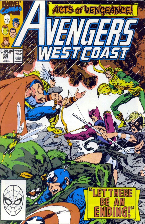 Avengers West Coast (1989) 55 Page 1