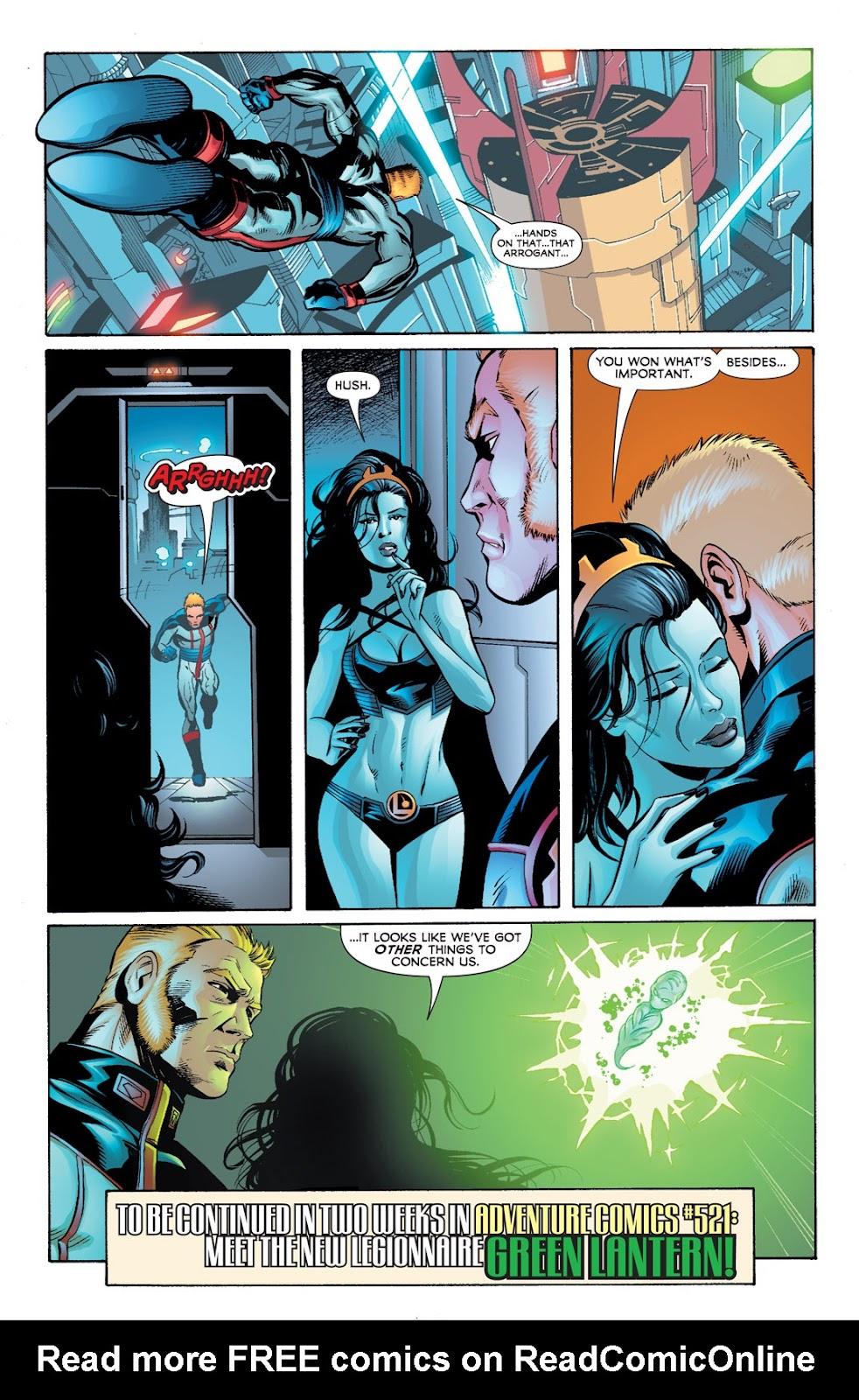 Legion of Super-Heroes (2010) Issue #7 #8 - English 19