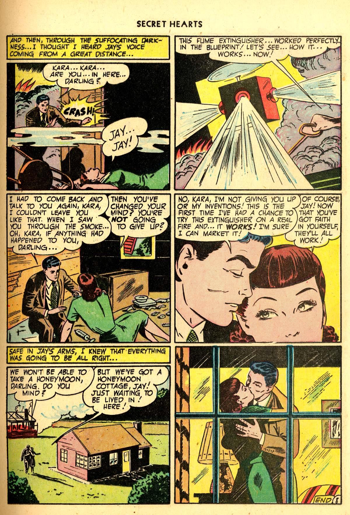 Read online Secret Hearts comic -  Issue #6 - 19