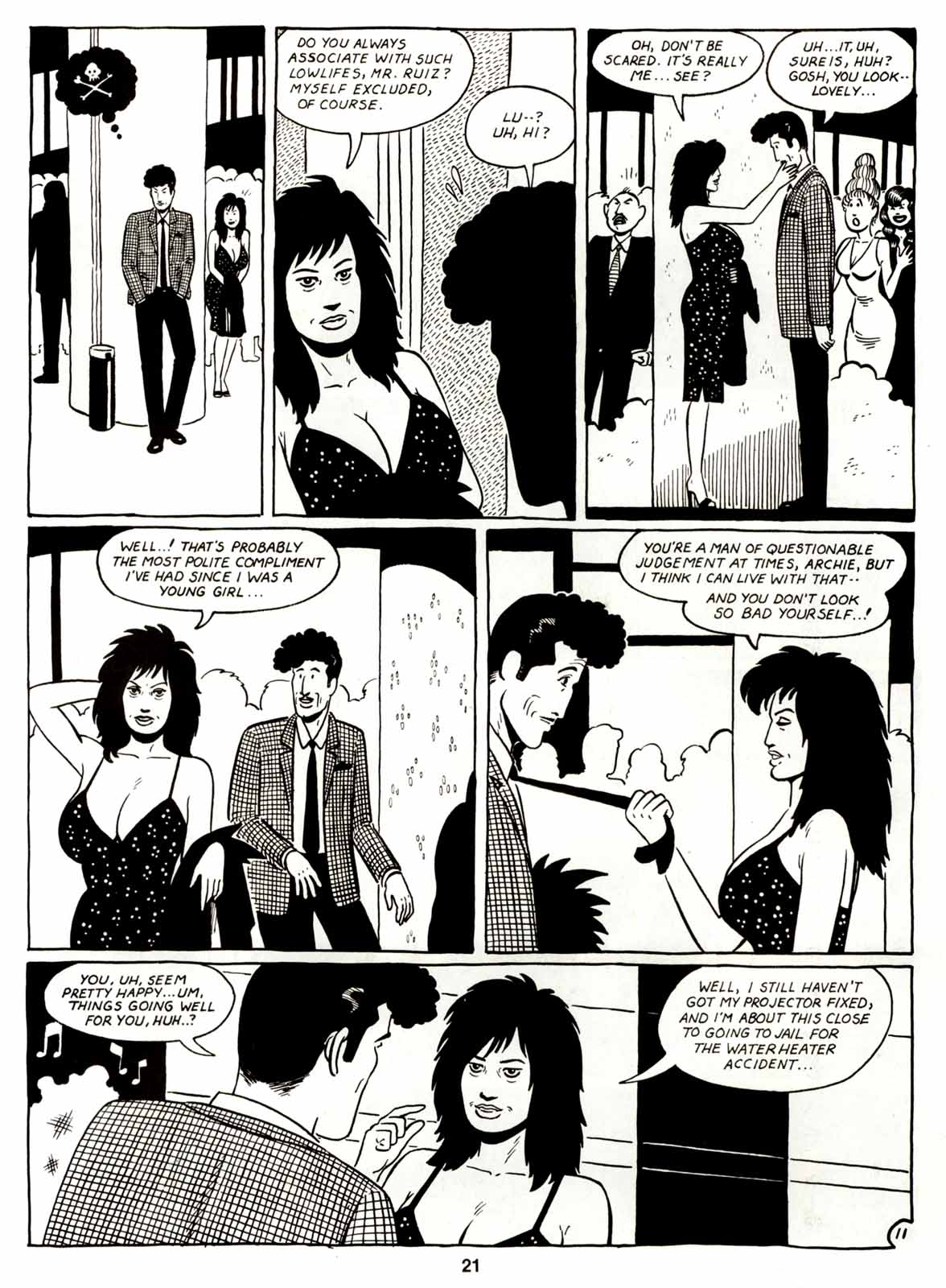 Love and Rockets (1982) Issue #7 #6 - English 23