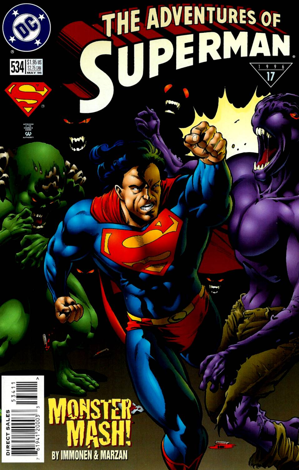 Adventures of Superman (1987) 534 Page 1