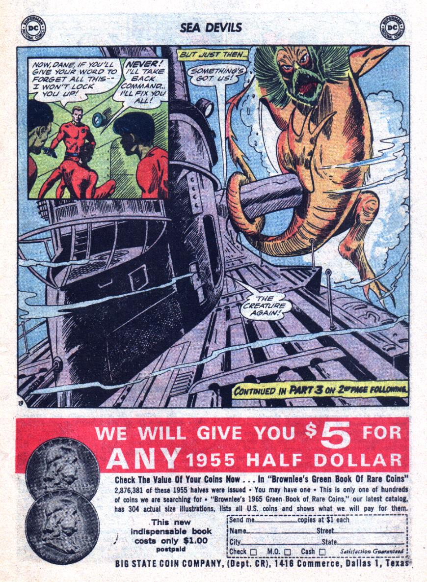 Read online Sea Devils comic -  Issue #24 - 26