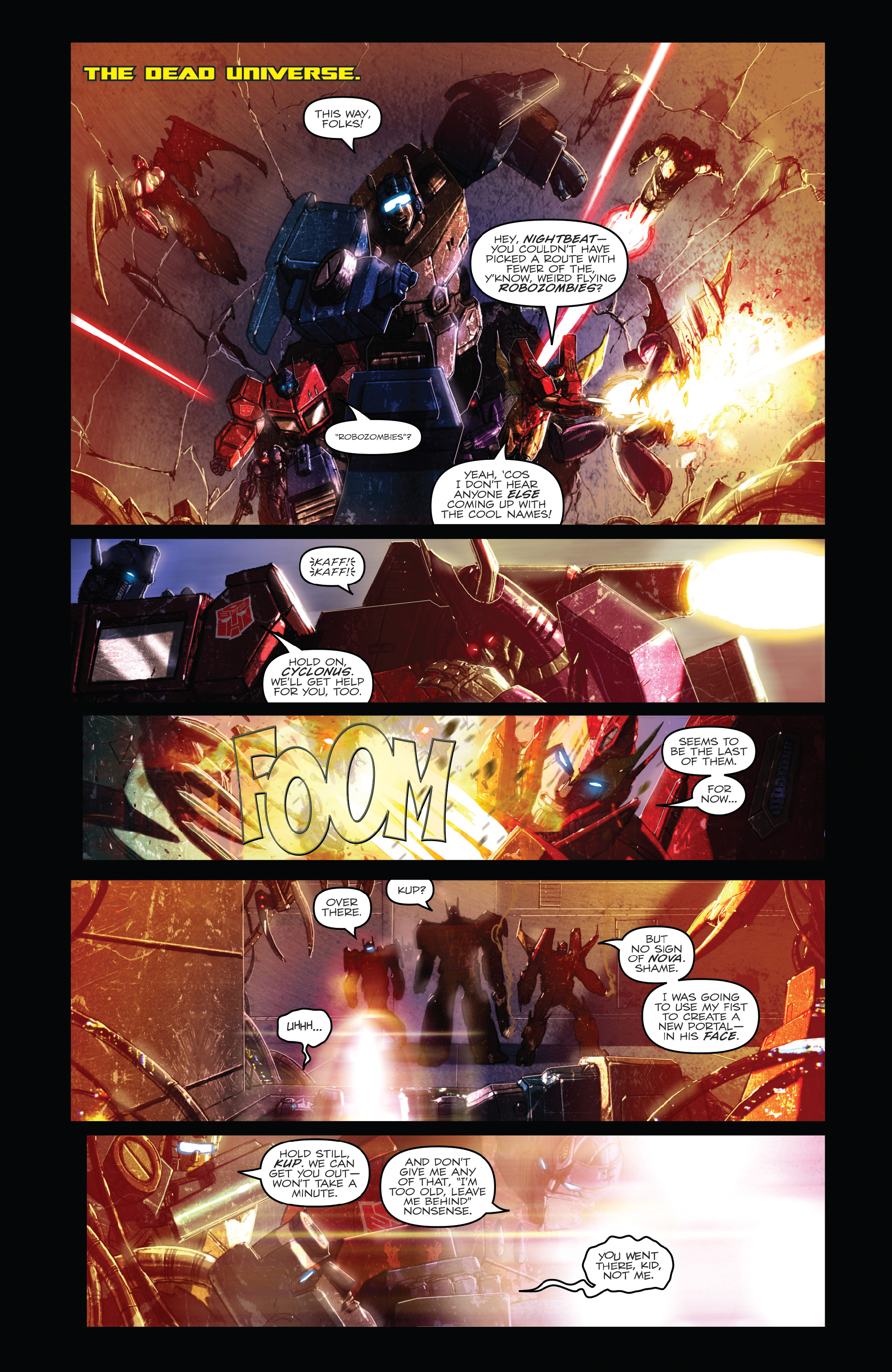 Read online The Transformers: Dark Cybertron Finale comic -  Issue # Full - 38